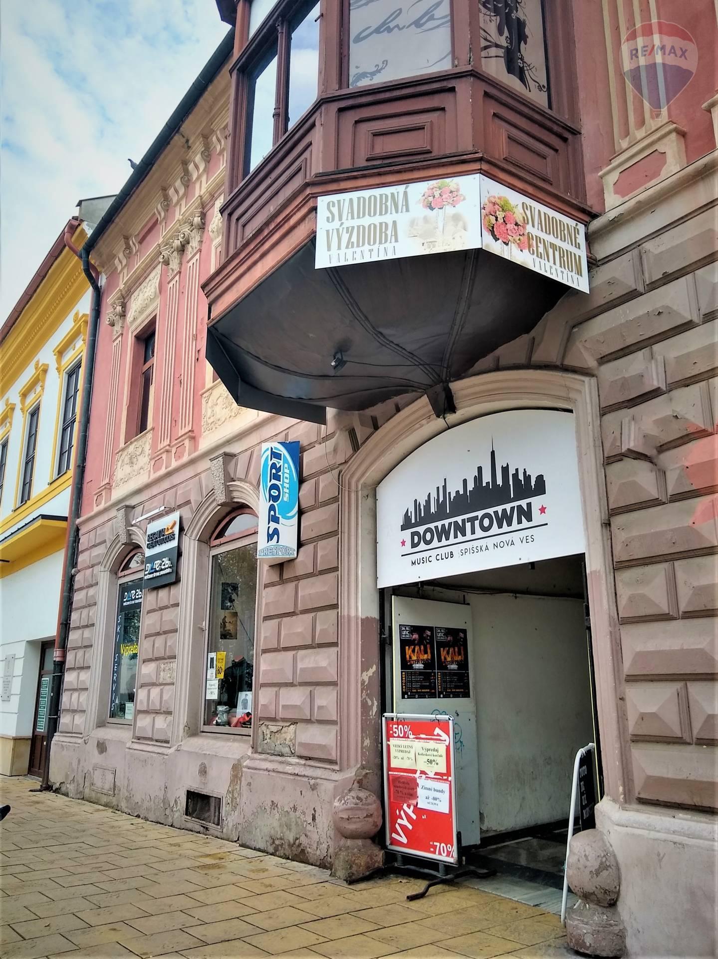 Na prenájom obchodný priestor Spišská Nová Ves