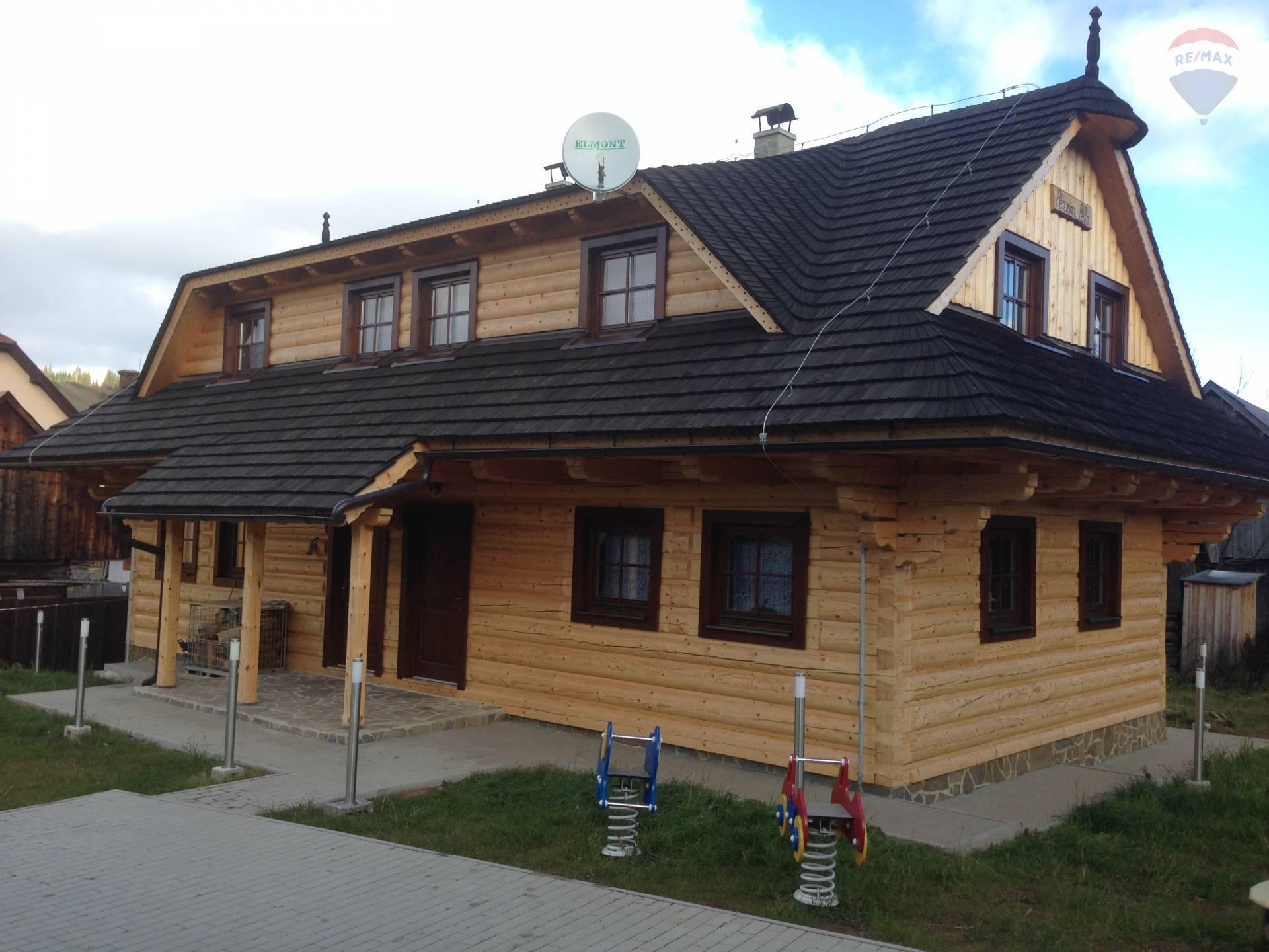 REZERVOVANÉ: novostavba drevenica,Liptovská Teplička,okres Poprad