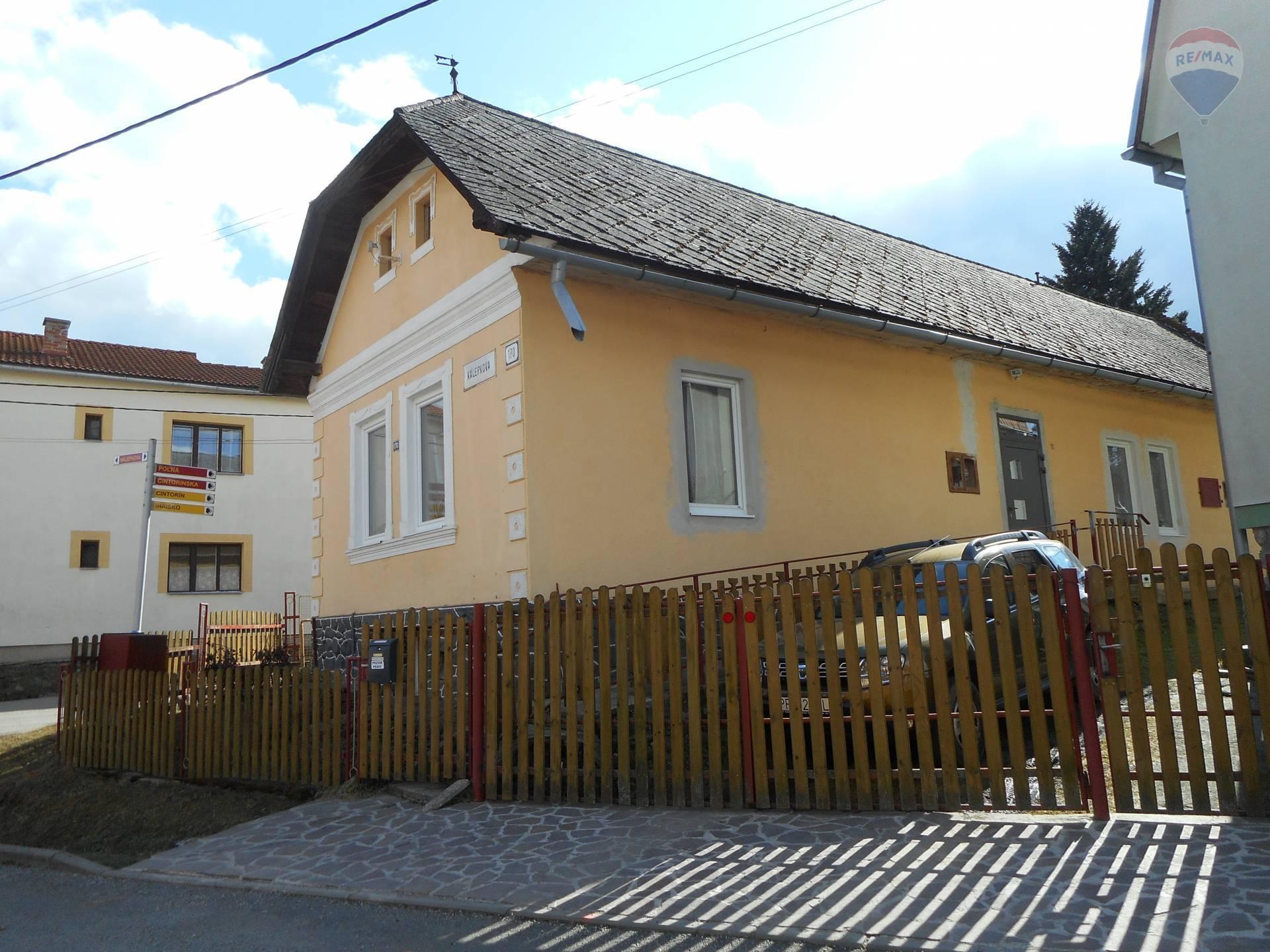 Na predaj rodinný dom Batizovce,čiastočná rekonštrukcia,okres Poprad