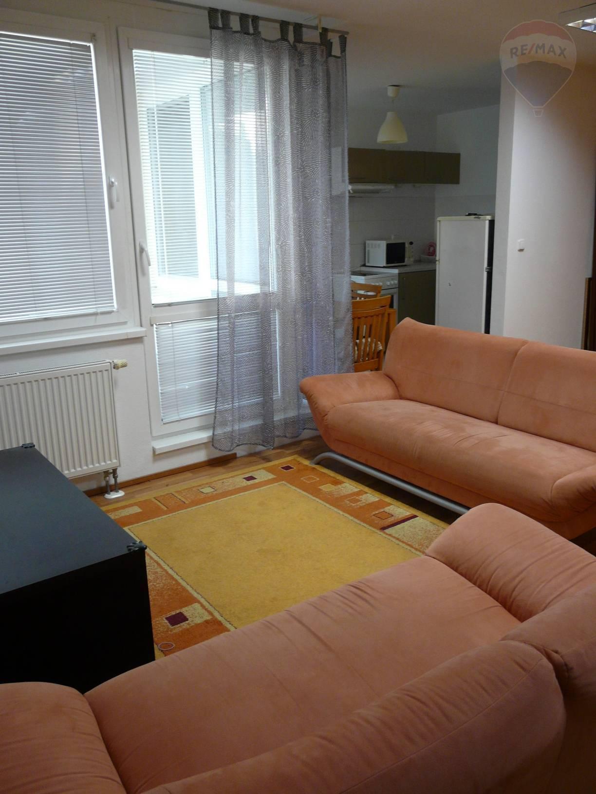 Prenájom 2 izbového bytu na Galaniho pri OC AVION