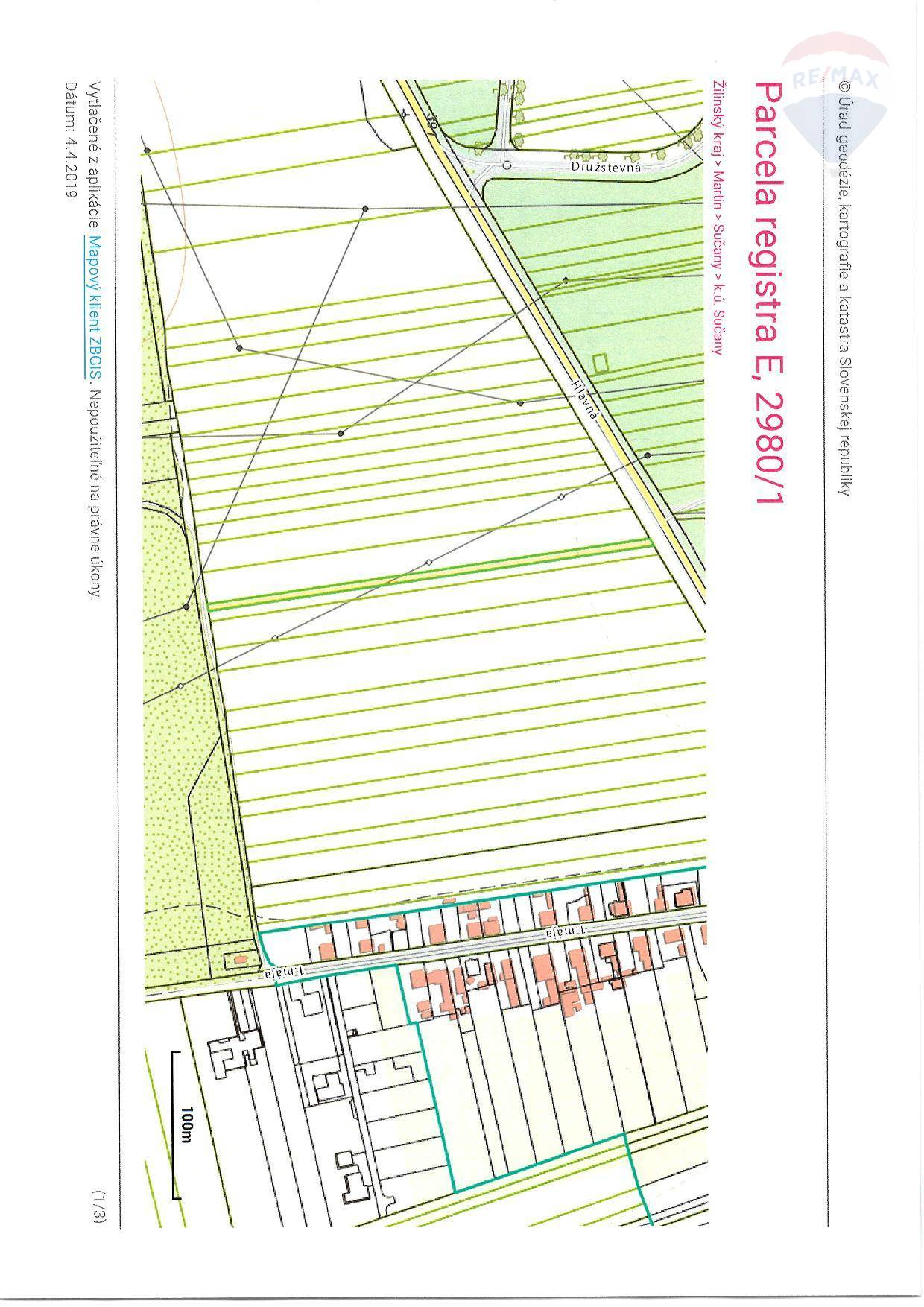 Predaj pozemku 7485 m2, Sučany - Pozemok/Sučany