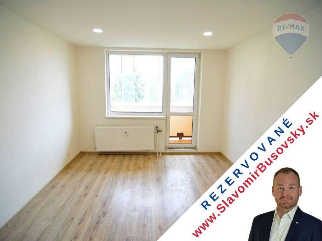 REZERVOVANÉ: 1 izbový byt Bardejov na predaj