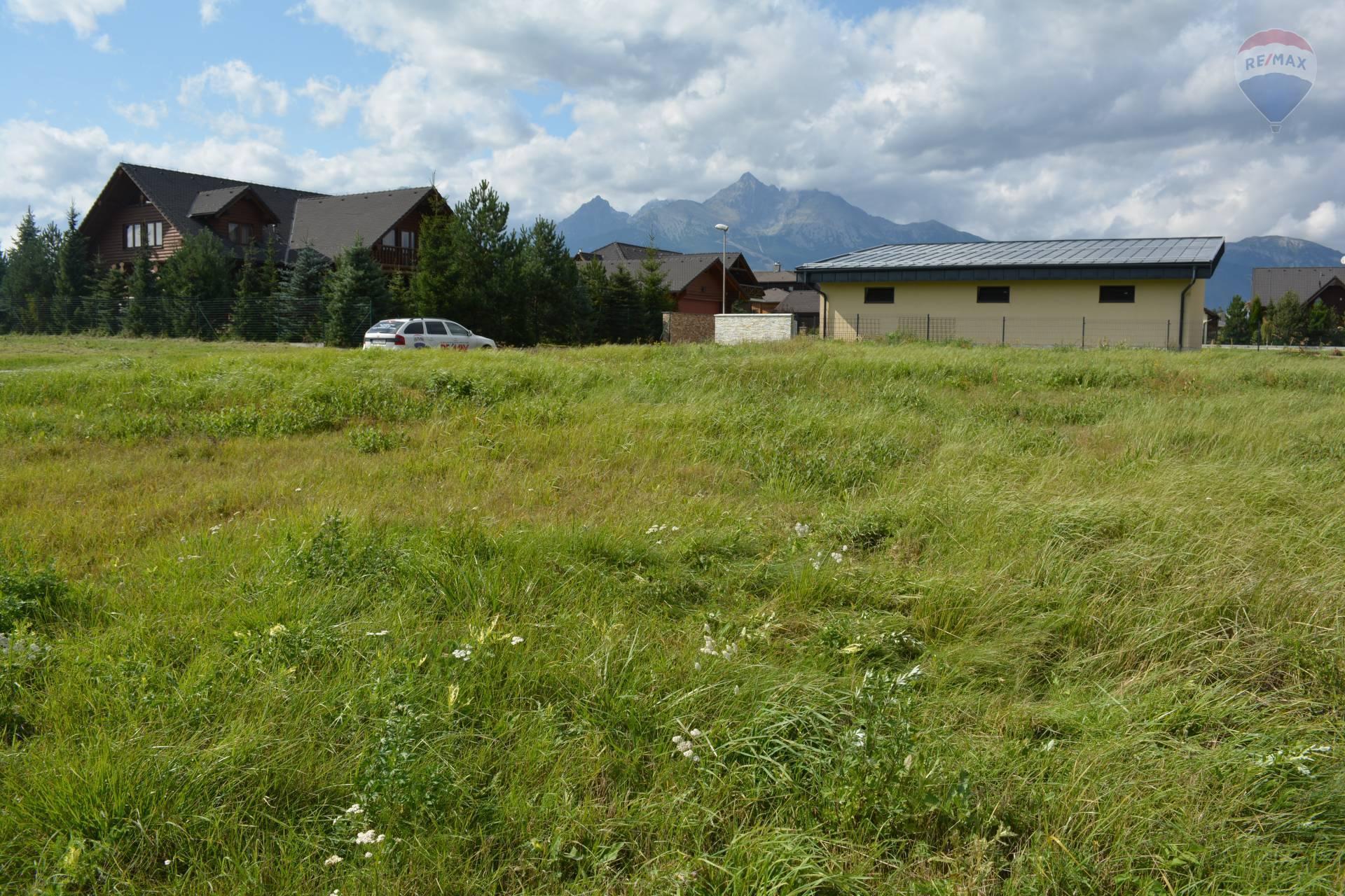 Na predaj pozemok 1274m2, Veľká Lomnica pod golfovými ihriskami