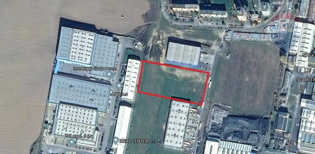 Na predaj pozemok v priemyselnom areály Poprad - Matejovce