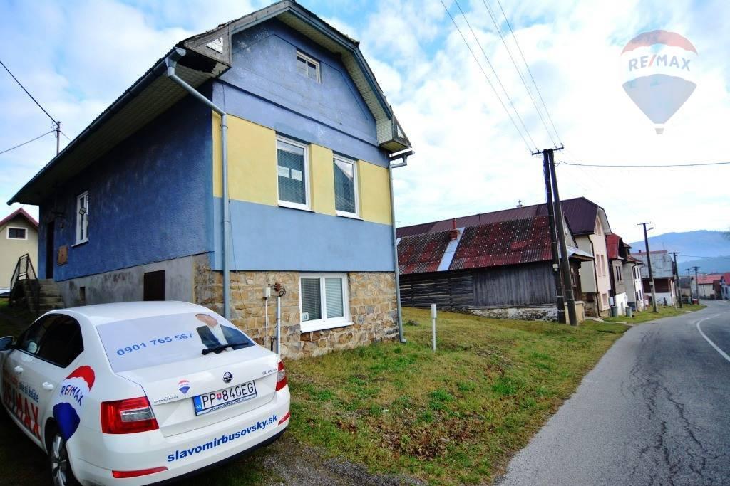 Na predaj rodinný dom Šuňava okres Poprad