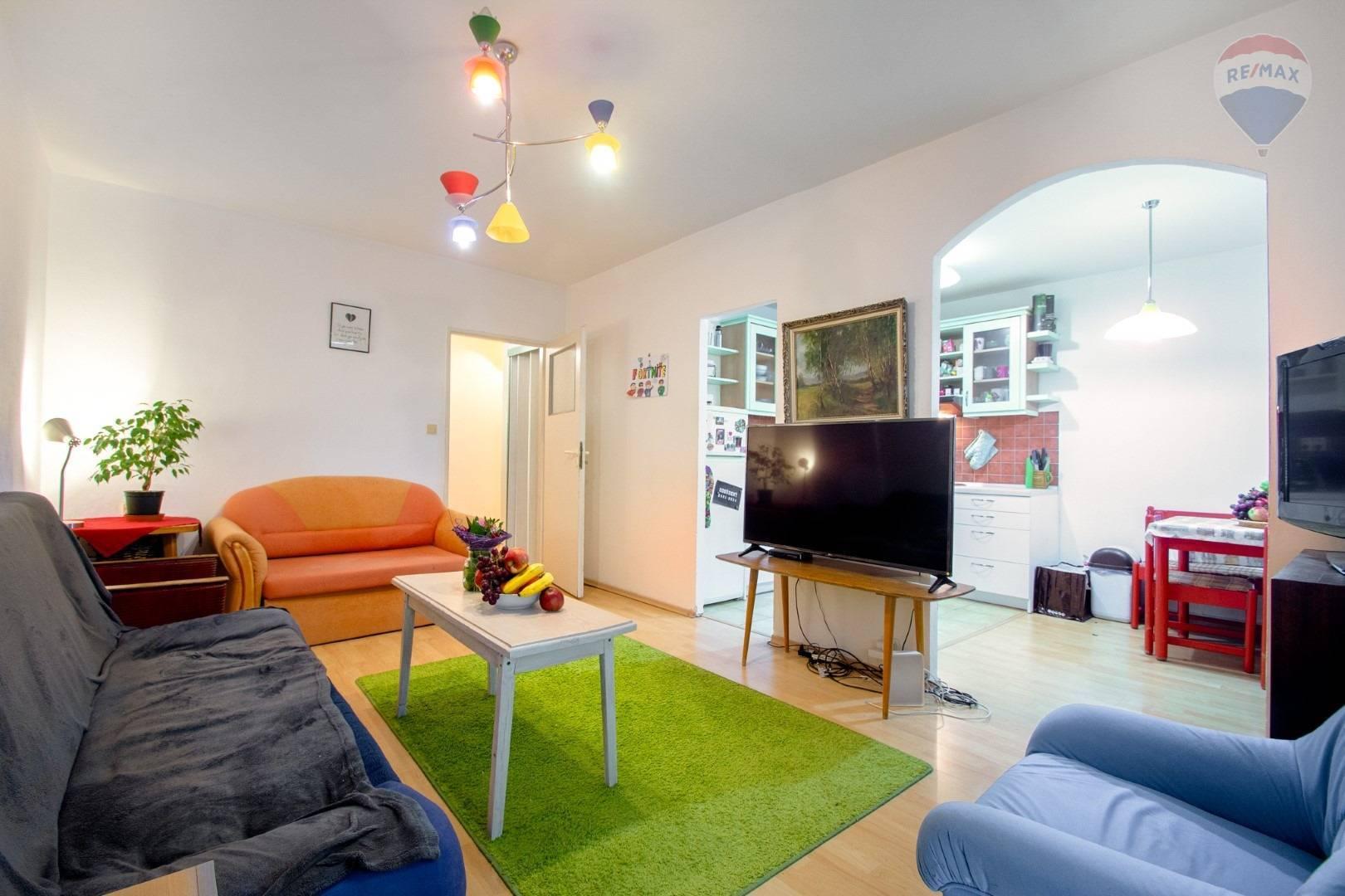 Na predaj 4 izbový byt, 2 lodžie, Pajorova ulica Košice-Staré mesto