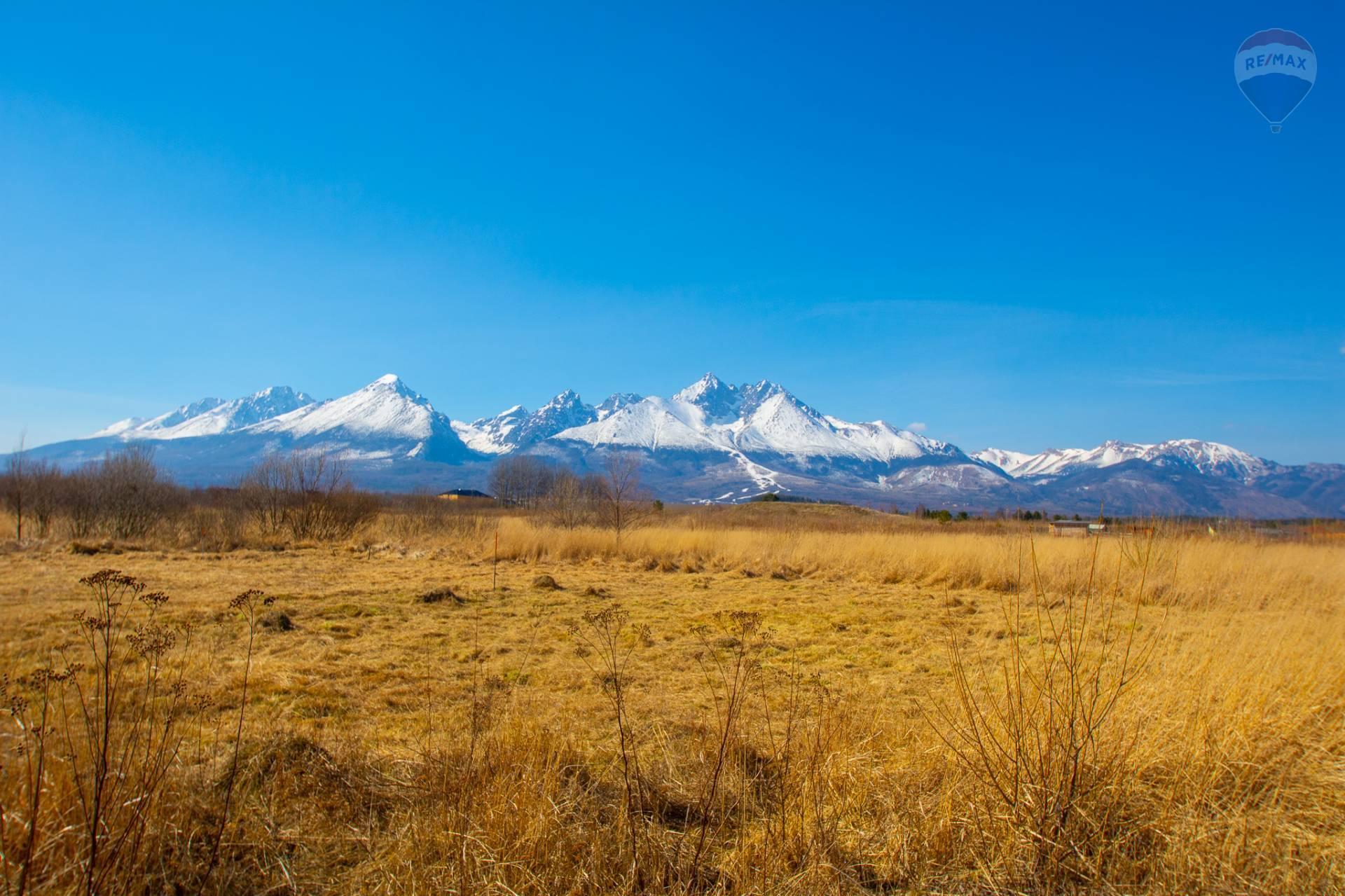 Lukratívny stavebný pozemok s nádherným výhľadom na Vysoké Tatry Veľká Lomnica