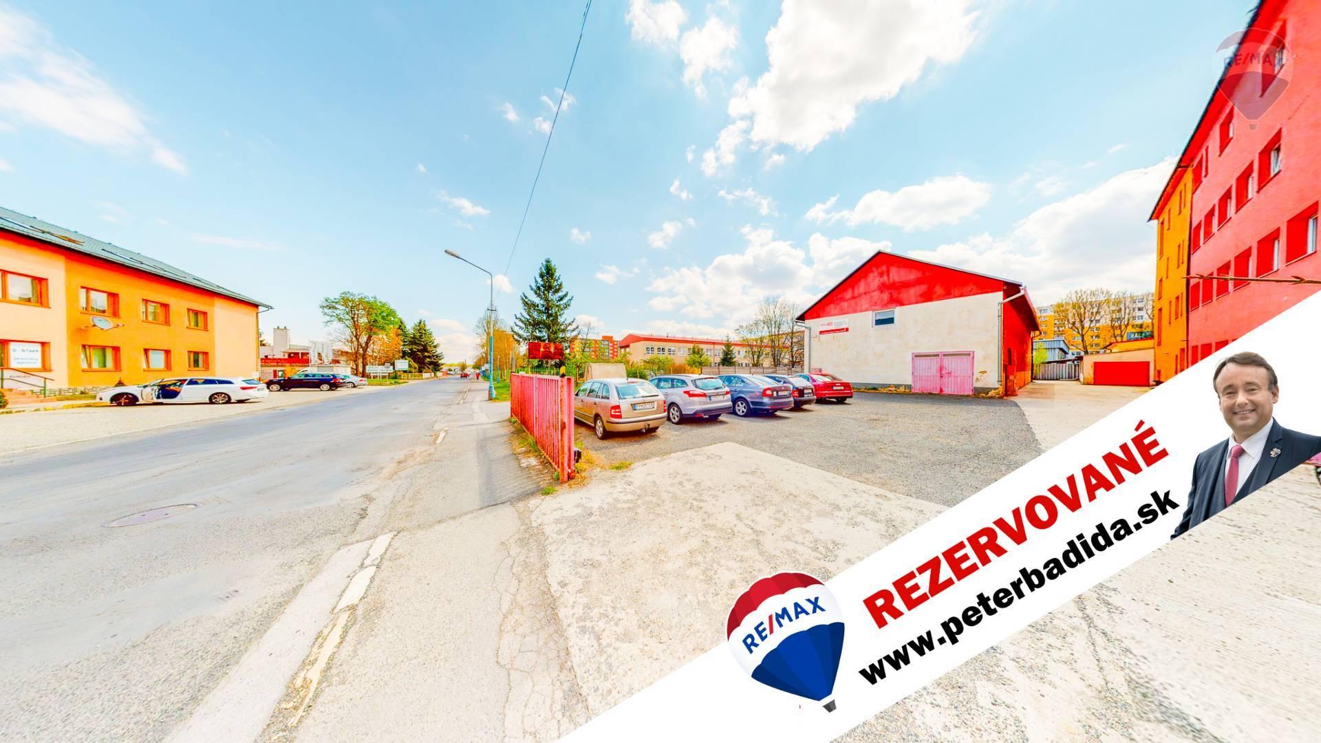 Na predaj budova s príslušenstvom na 10 árovom pozemku Hraničná ul.Poprad