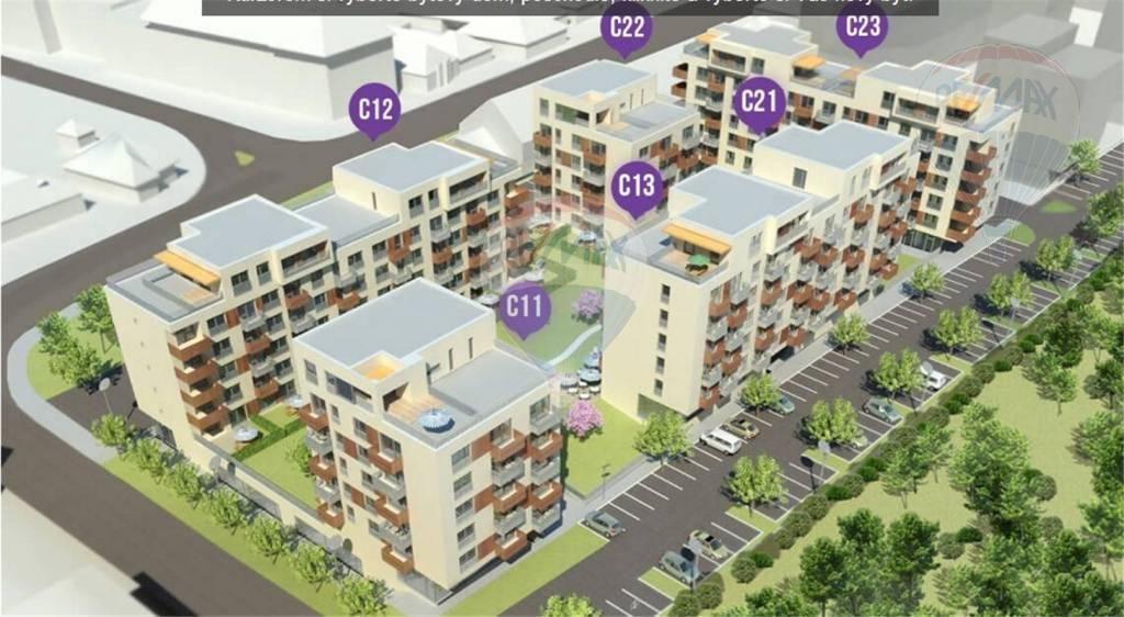 Na predaj posledný 4 izbový byt novostavba Nitra centrum
