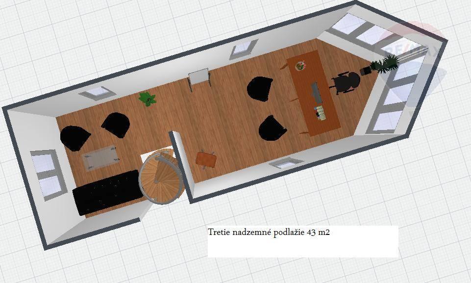 Prenájom komerčného priestoru 168 m2, Nitra - Prenájom obchodných kancelárskych priestorov Nitra