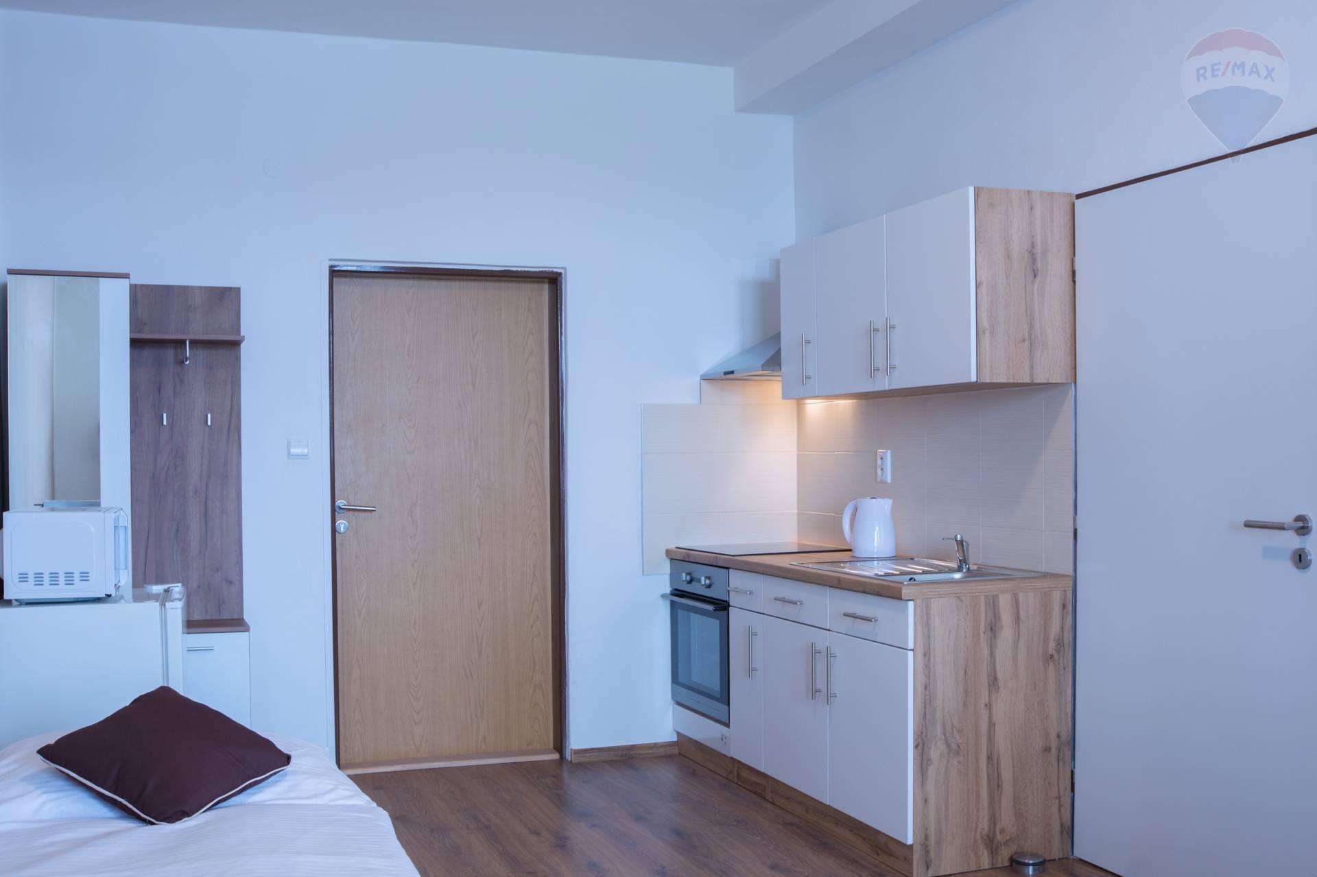 Prenájom bytu (1 izbový) 40 m2, Nitra -