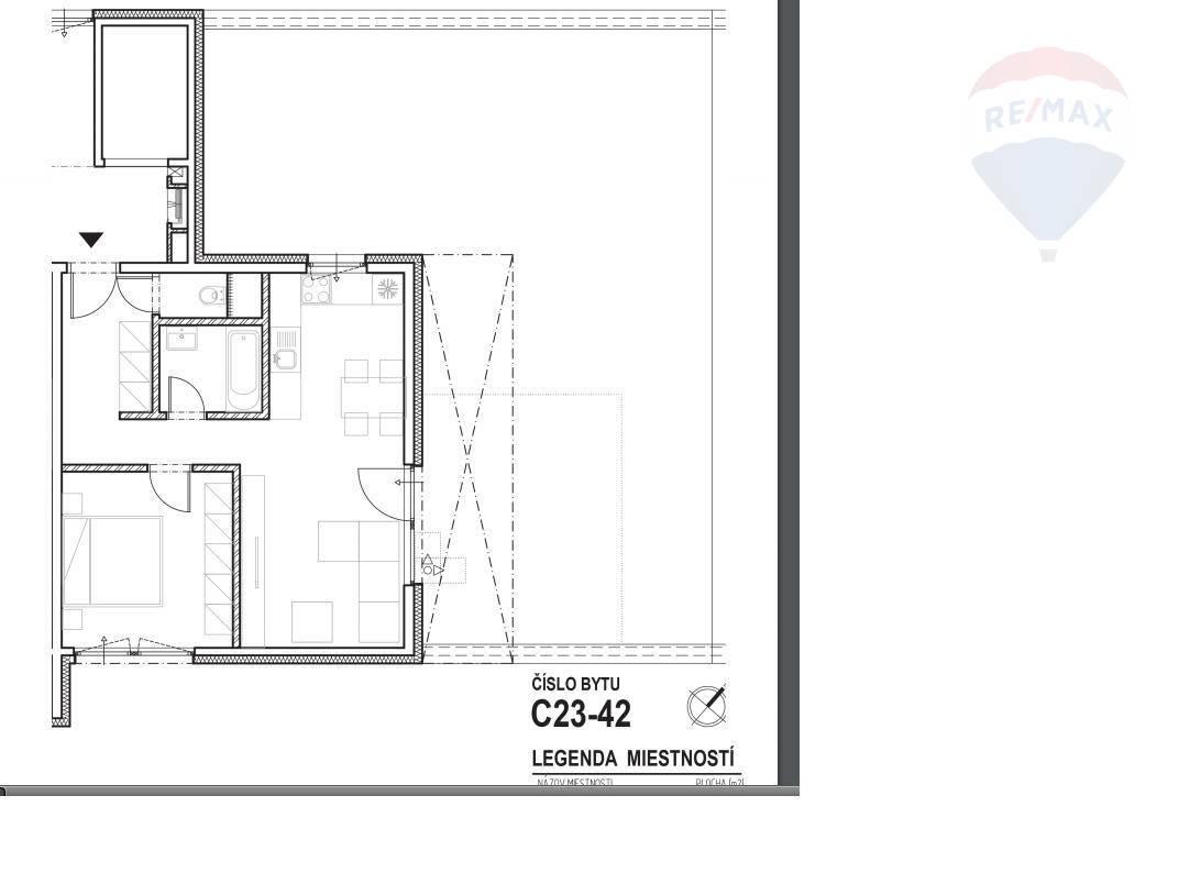 Predaj bytu (2 izbový) 53 m2, Nitra - Predaj novostavba 2 izbový byt Nitra