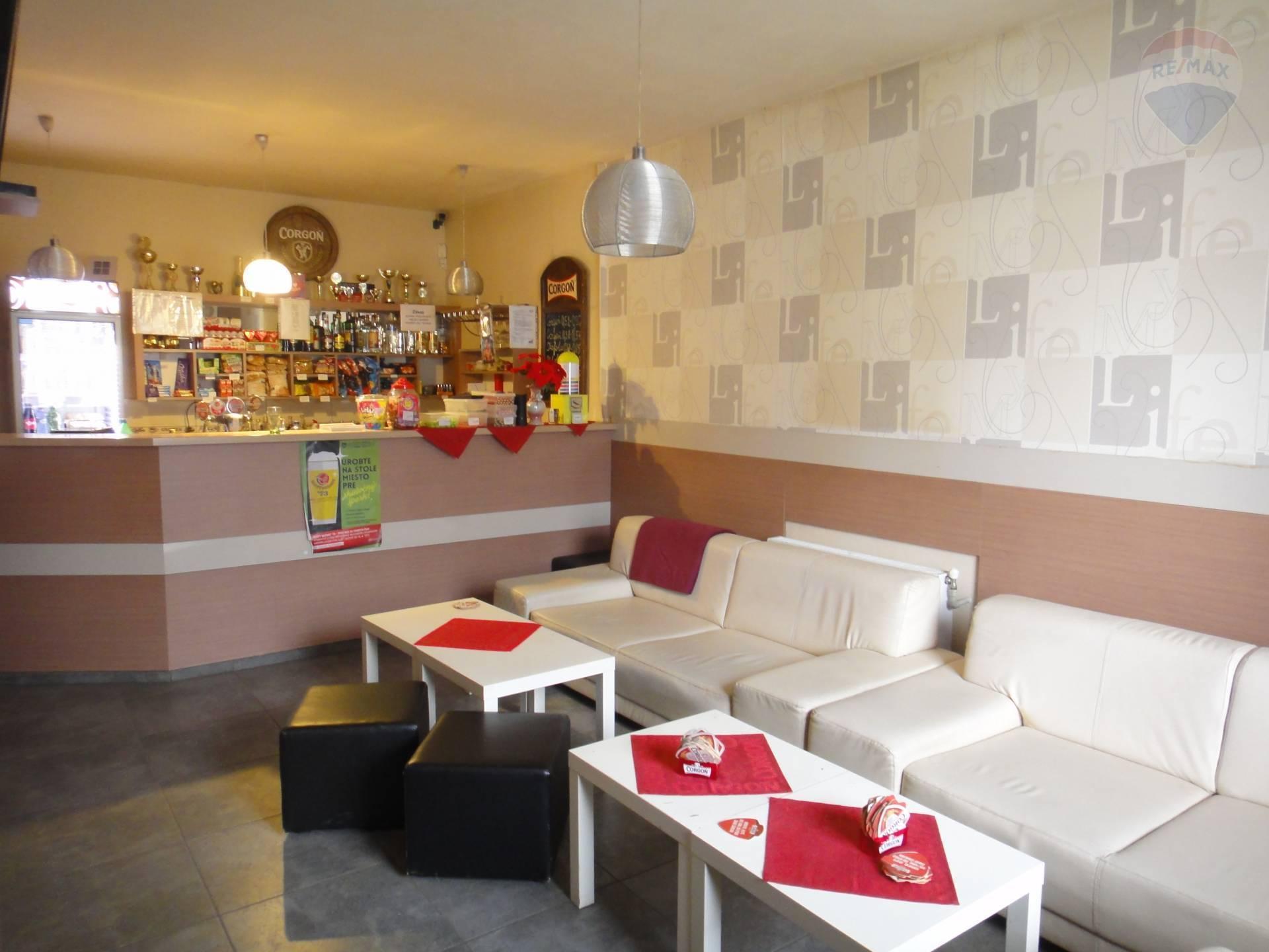 Predaj komerčného priestoru 754 m2, Horný Pial - bar nefajčiarska miestnosť