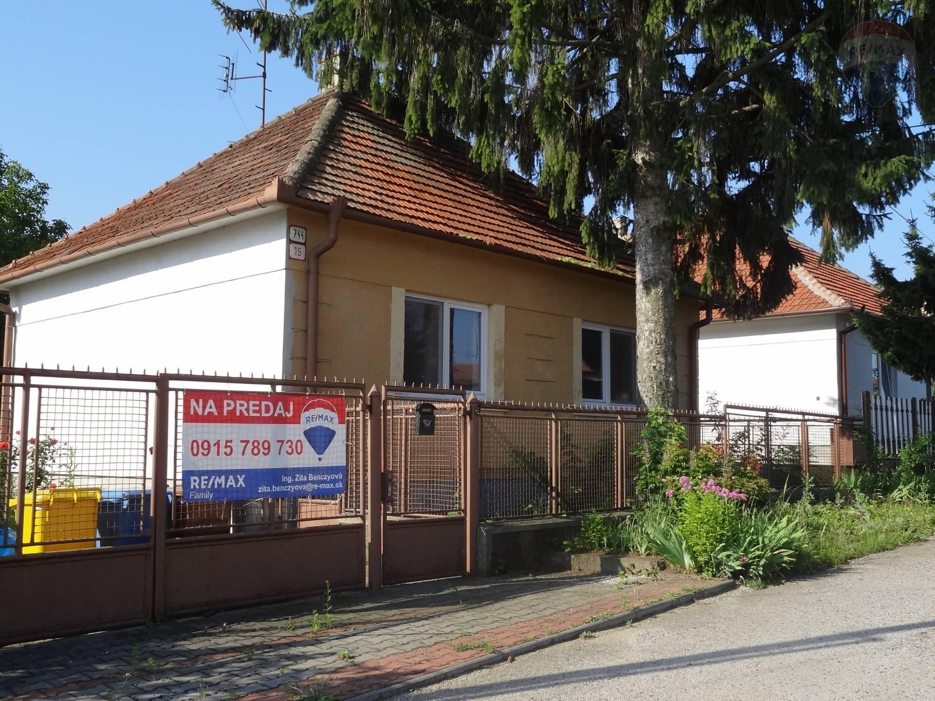 Predaj 4 izbovy rodinný dom, Nitra, Lužianky EXKLUZÍVNE!