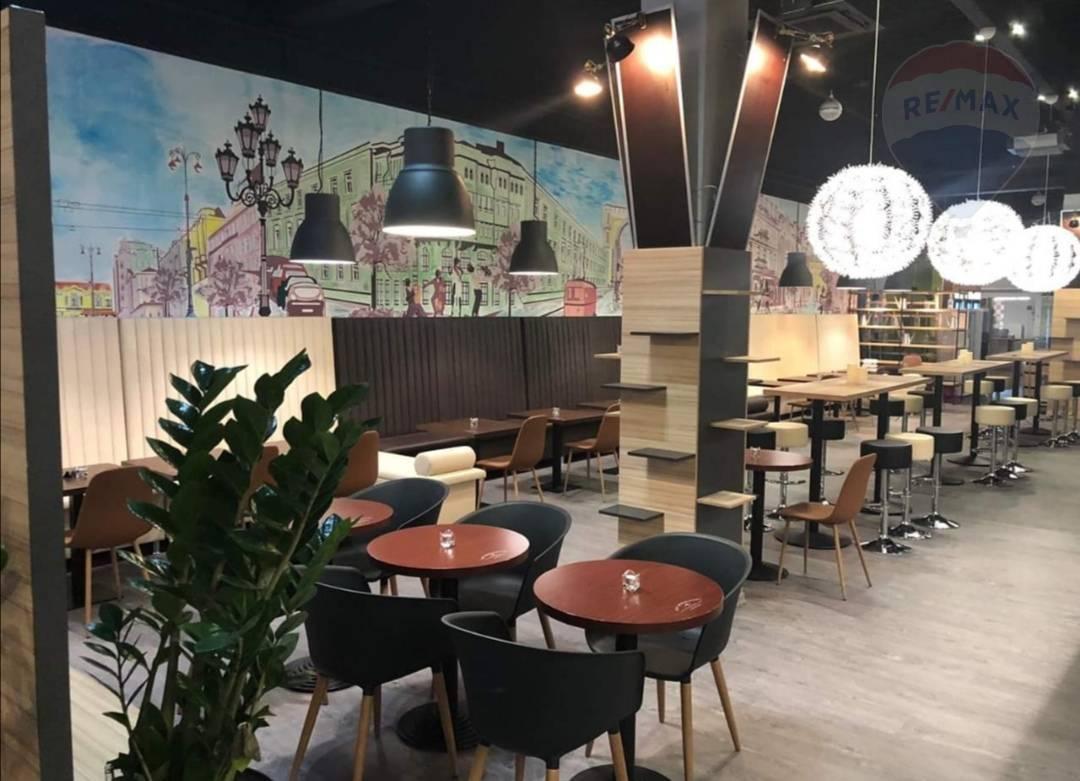 Predaj - odstúpenie zabehnutej modernej reštaurácie City park Levice.