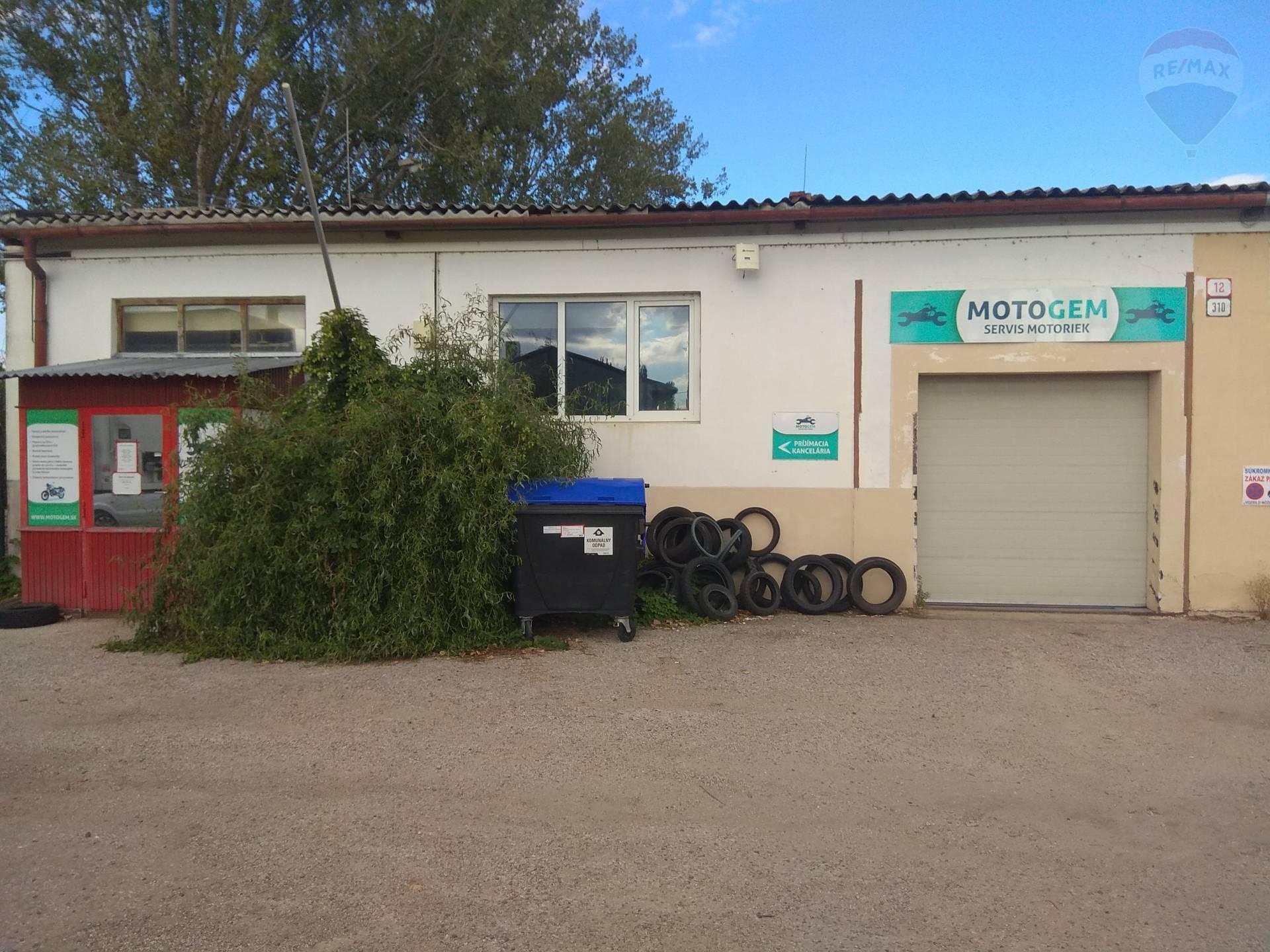 Predaj, odstúpenie prevádzky servisu motoriek Nitra