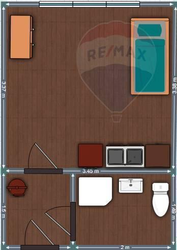 Predaj bytu (garsónka) 18 m2, Nitra -
