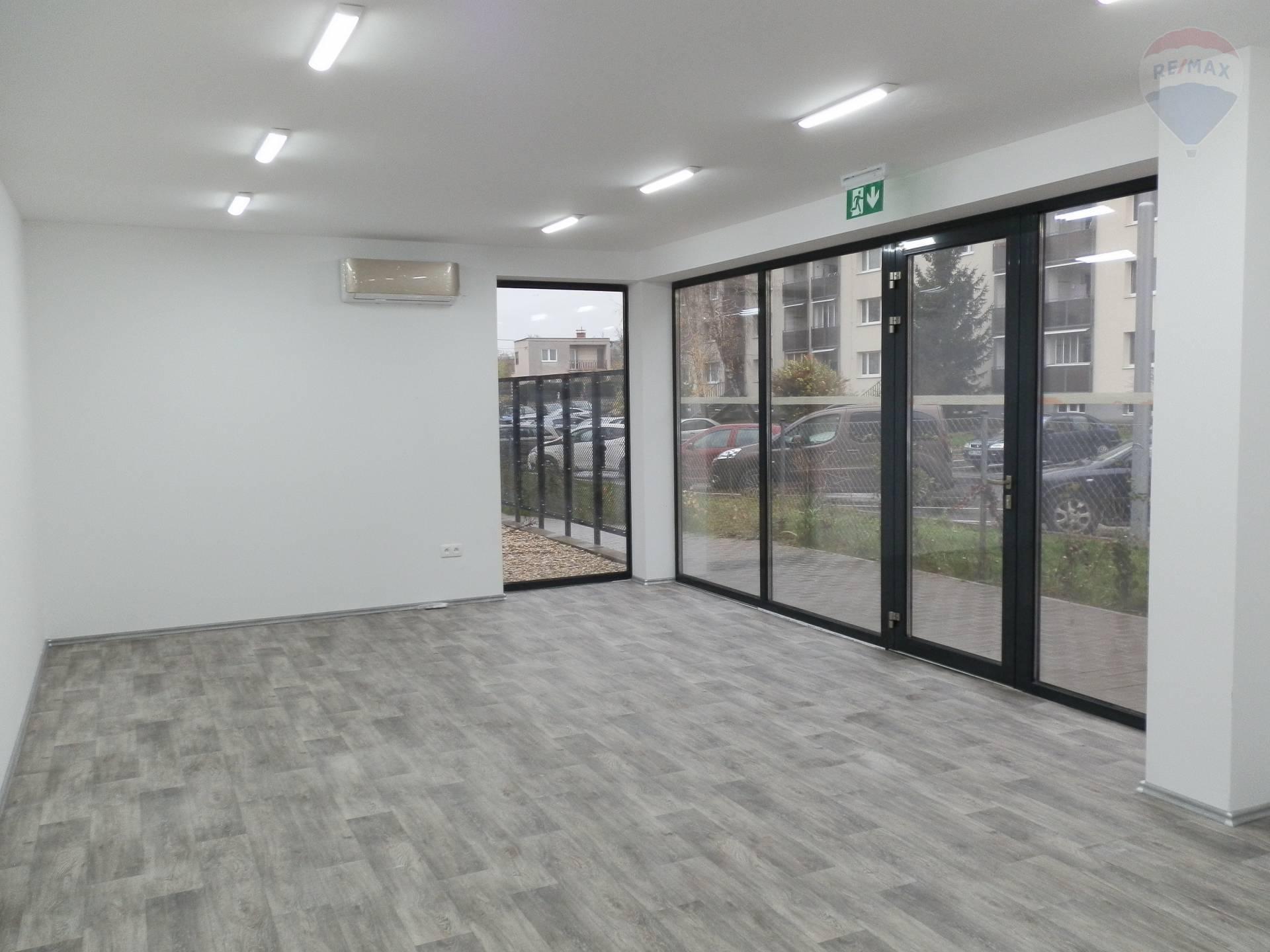 Prenájom kancelárskych, obchodných priestorov, novostavba, Nitra