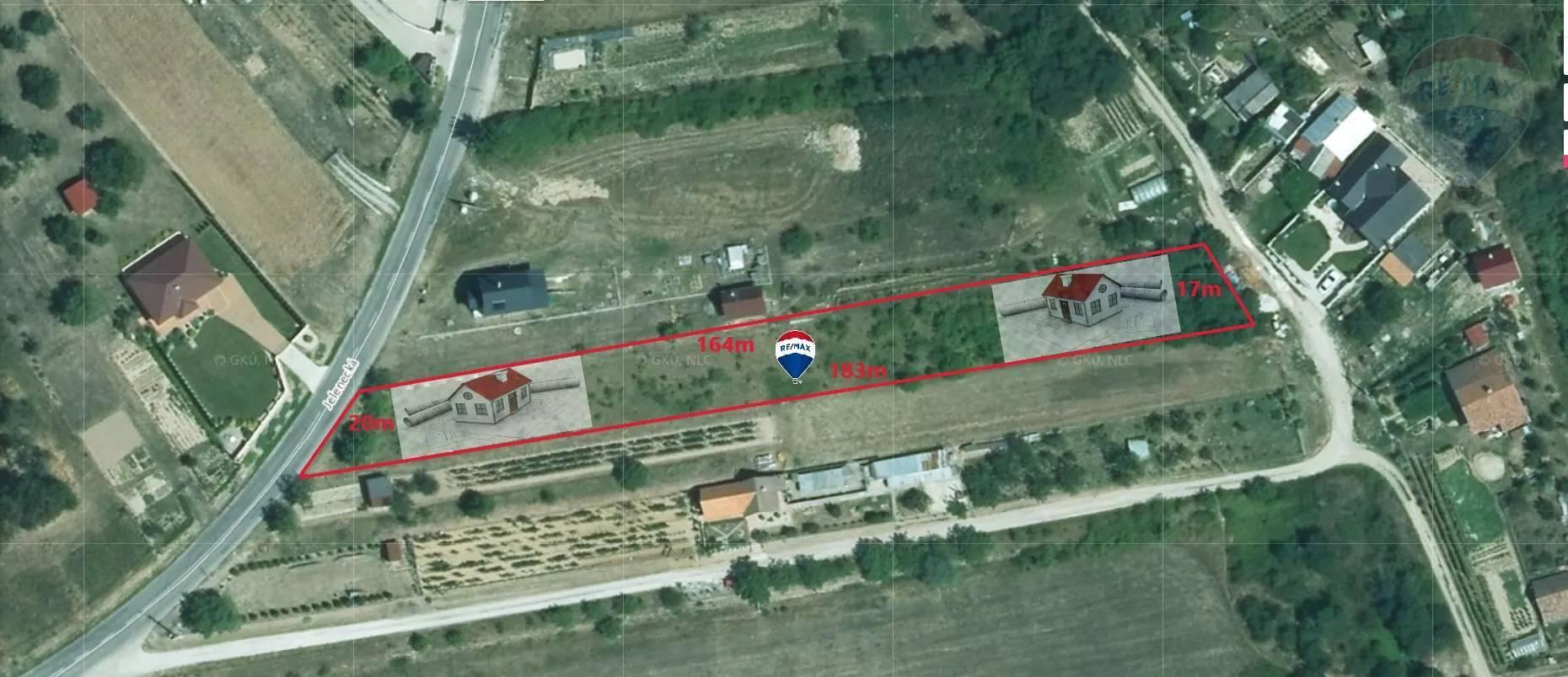 Predaj stavebný pozemok Nitrianske Hrnčiarovce EXKLUZÍVNE