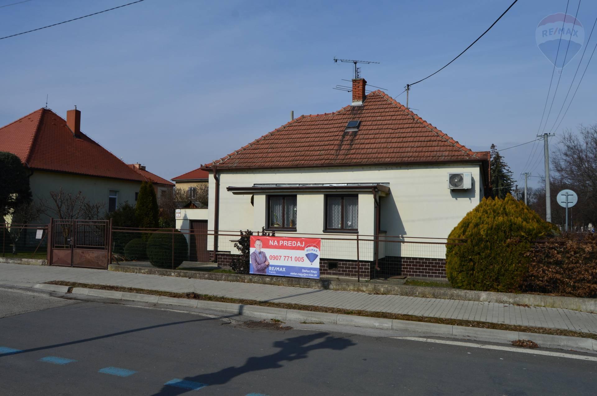 Predaj rodinný dom Nitra centrum EXKLUZÍVNE