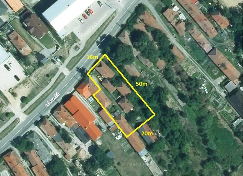 Predaj pozemok 1.030 m2 Nitra 3 km EXKLUZÍVNE