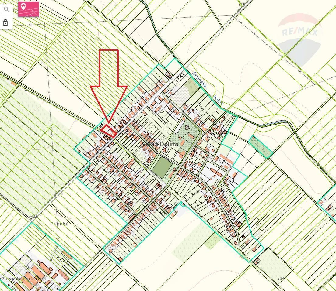 Predaj pozemku 1951 m2, Veľká Dolina - predaj pozemok Veľká Dolina