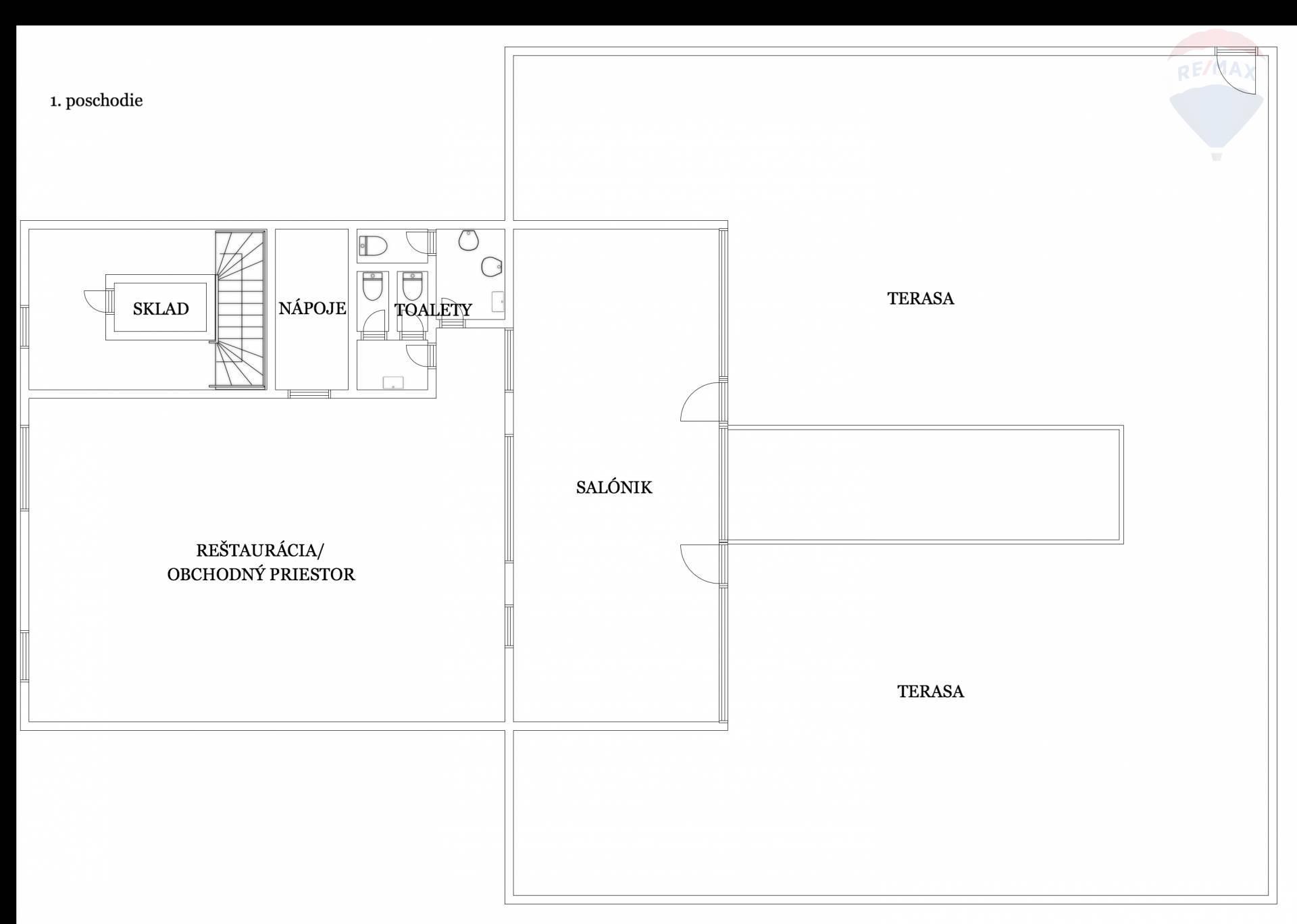 Predaj komerčného objektu 1020 m2, Topoľčany -