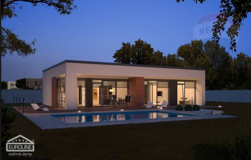 PREDÁM - novostavba rodinný dom, Chrabrany, krásny výhľad