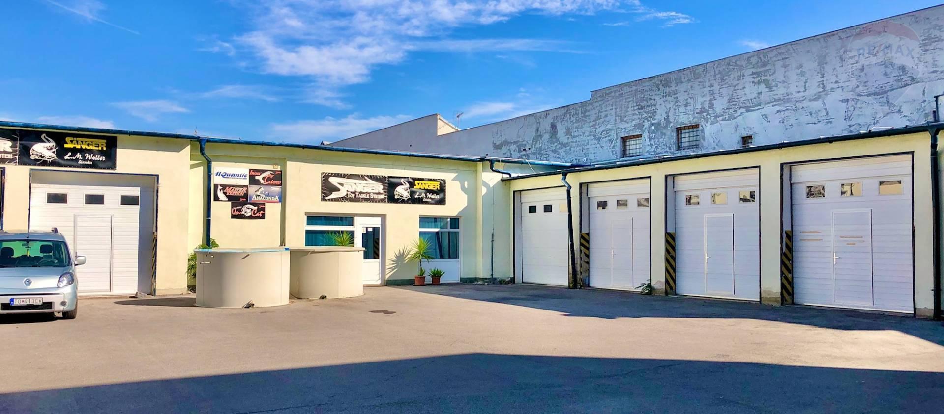 Na predaj - skladový areál - garáže - sídlo firmy