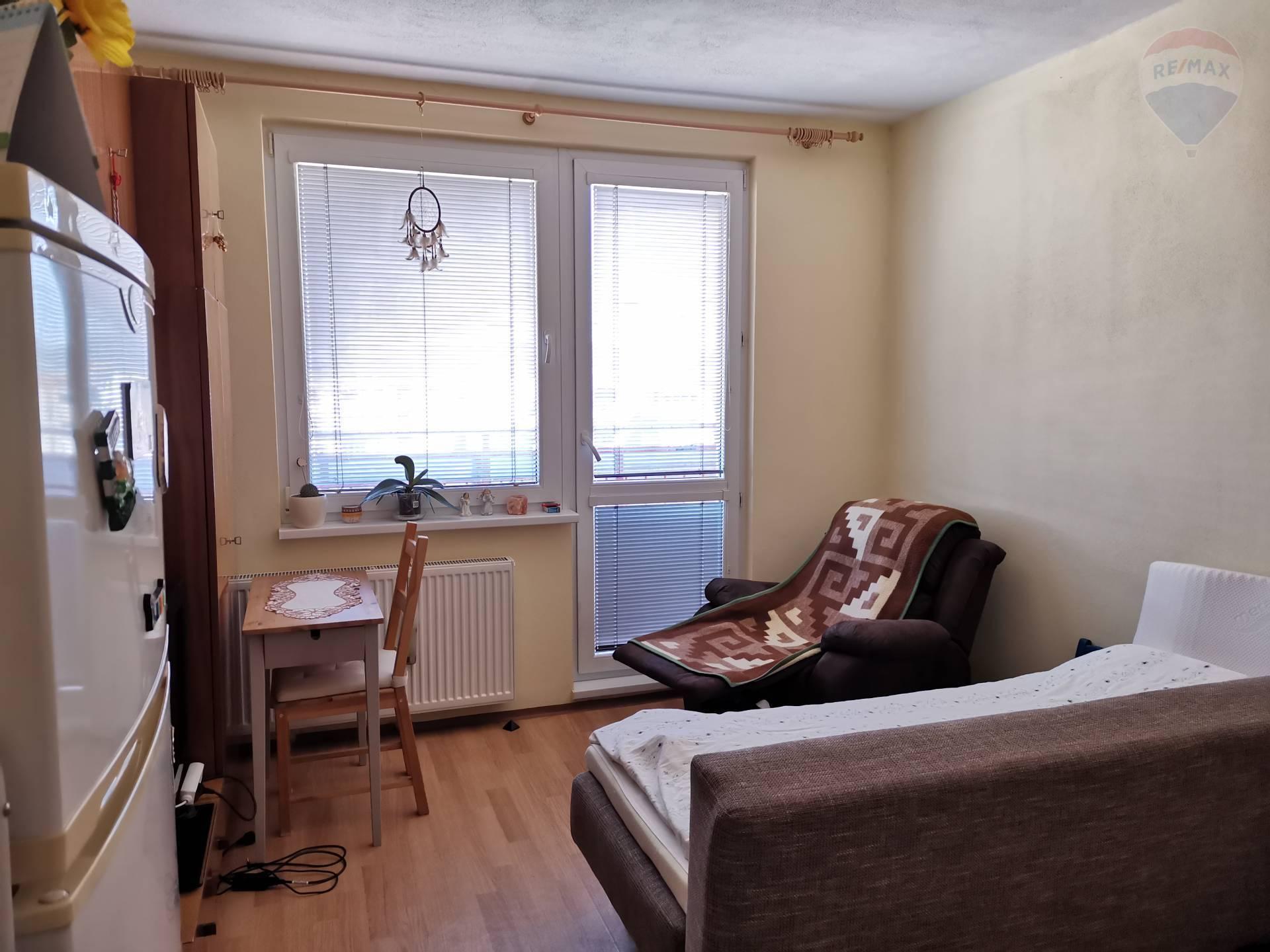 Predaj bytu (garsónka) 24 m2, Topoľčany -