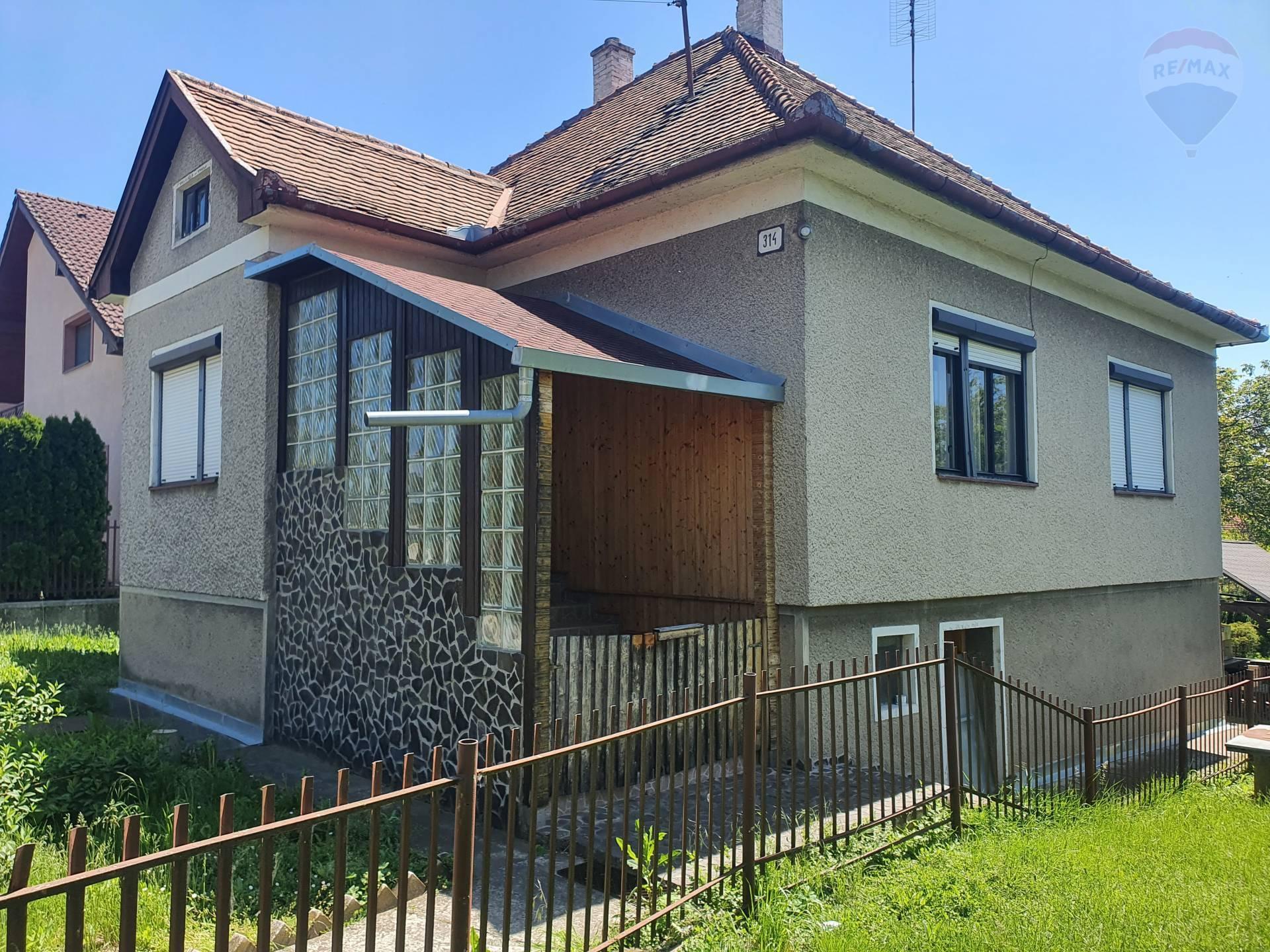 Predaj 3-izbový rodinný dom Žabokreky nad Nitrou, okr.Partizánske