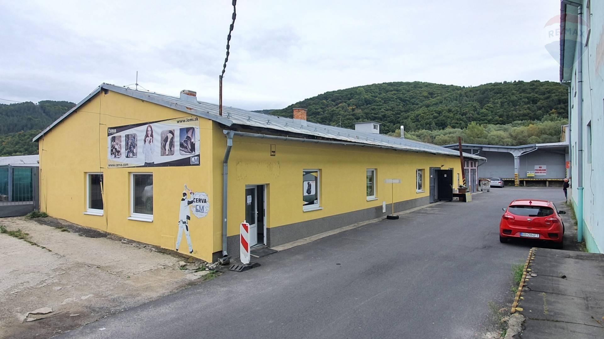 Na prenájom komerčná budova