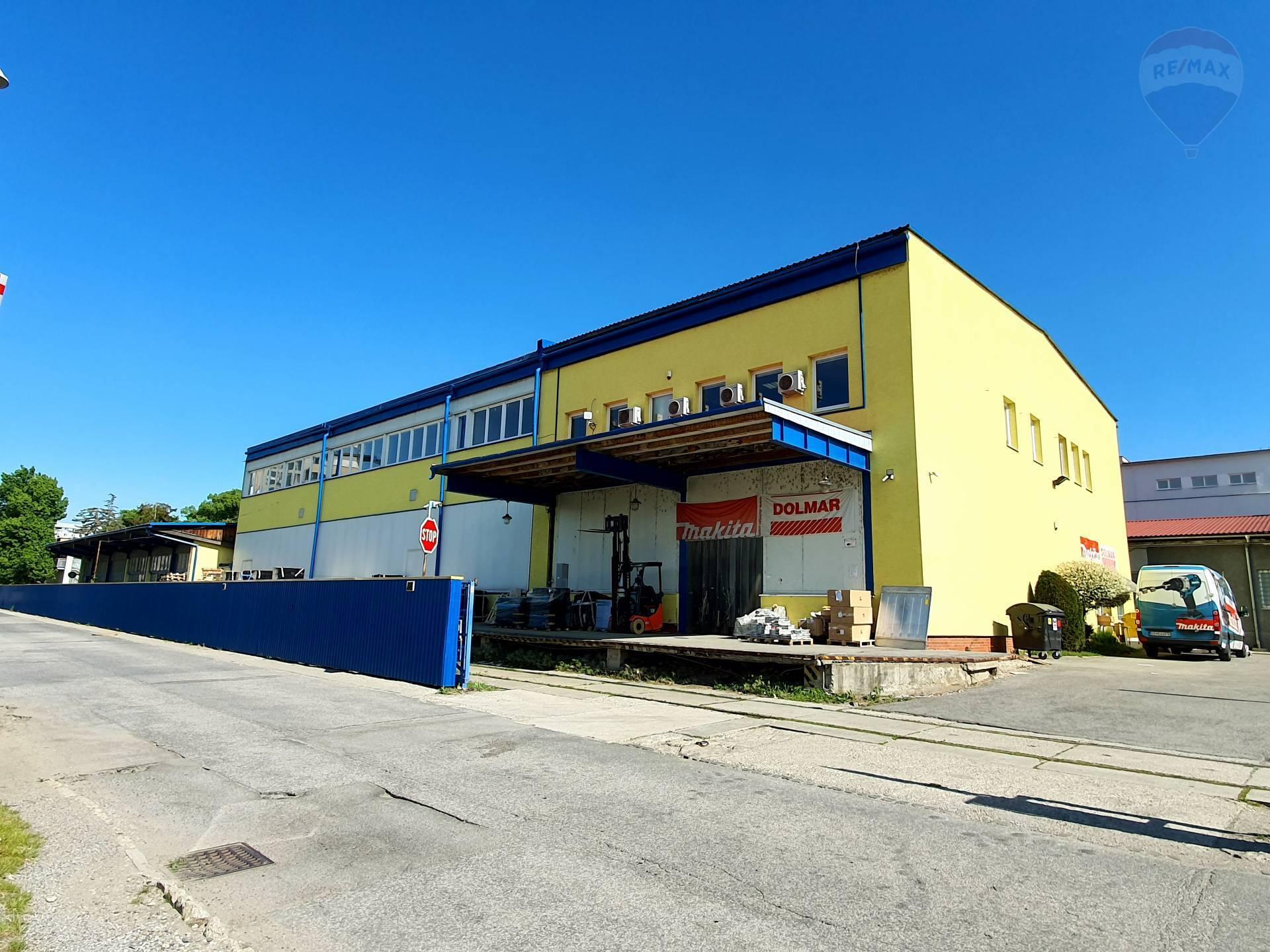 Na predaj priemyselný areál v blízkosti centra