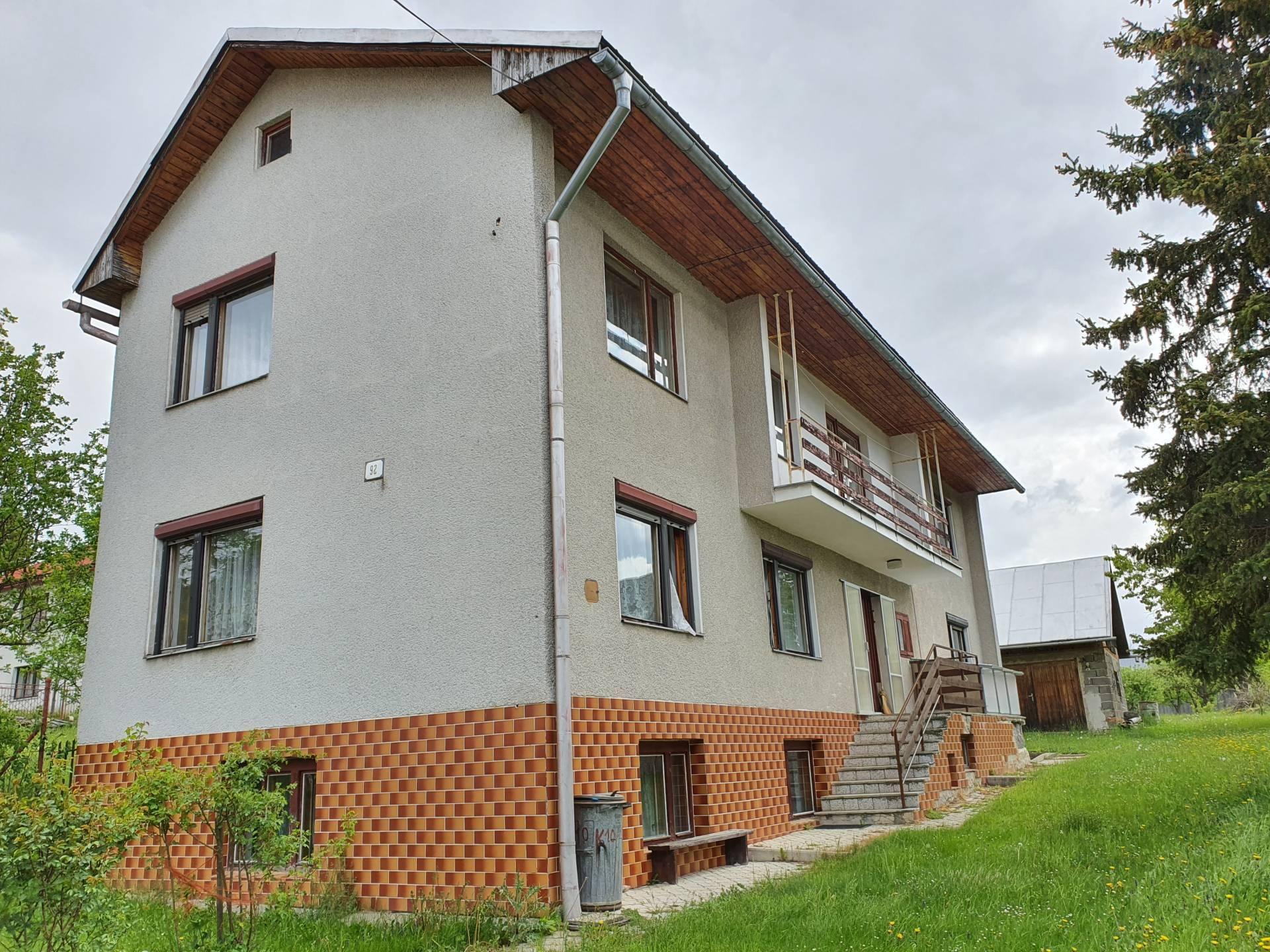 Na predaj rodinný dom Šumiac