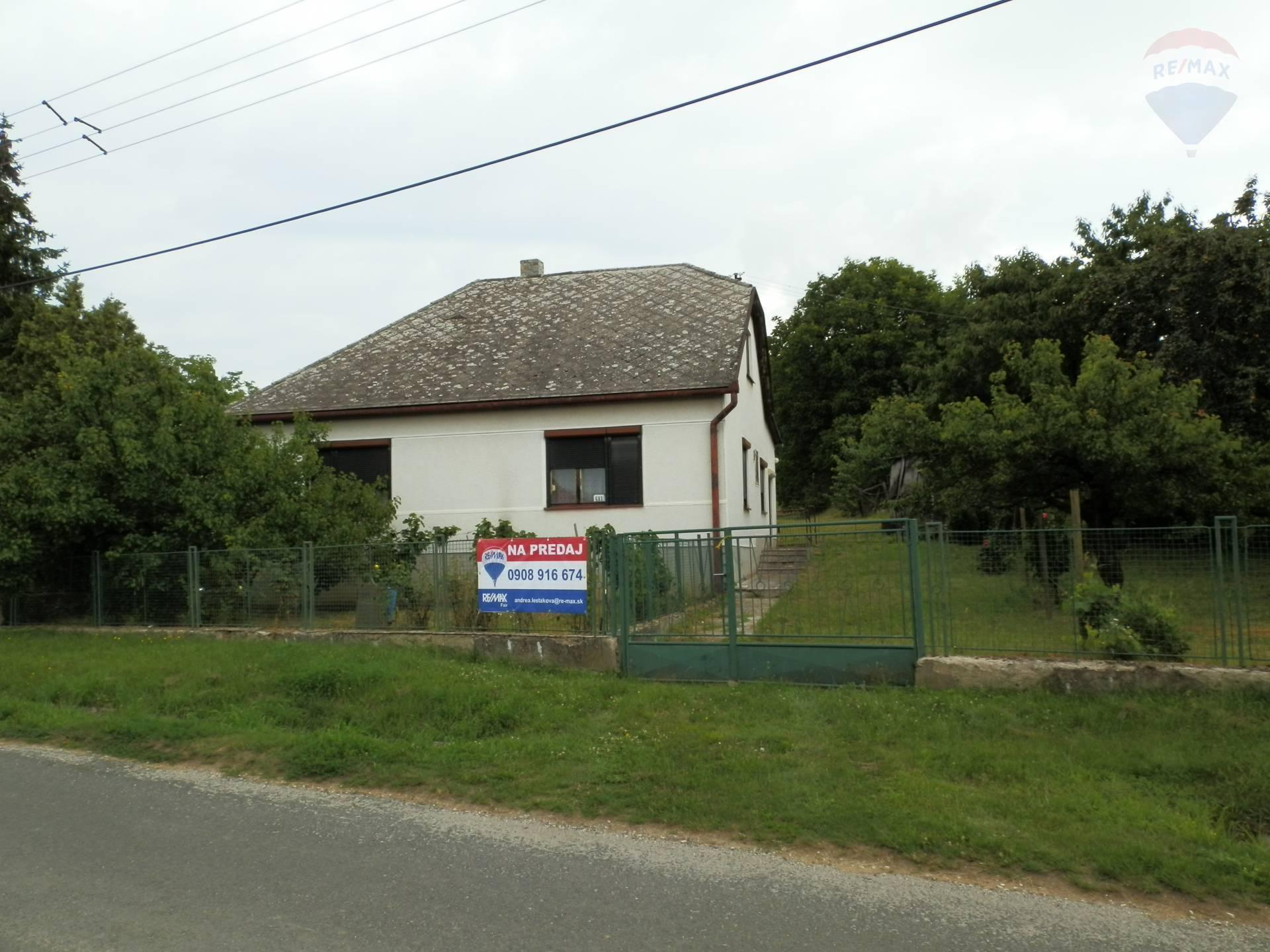 PREDAJ - rodinného domu - VINICA, Veľký Krtíš