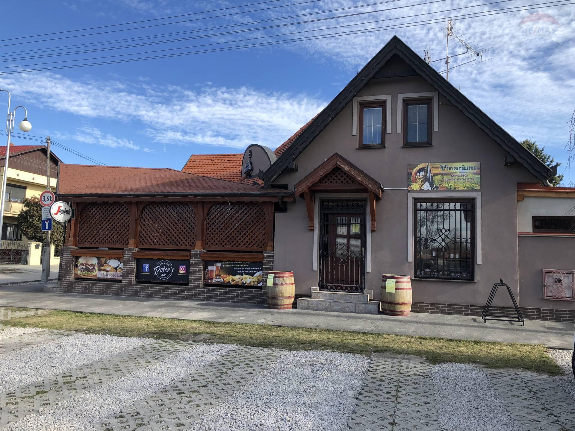 Predaj: Komerčný objekt - reštaurácia na predaj, Dunajská Streda, pozemok 471 m2