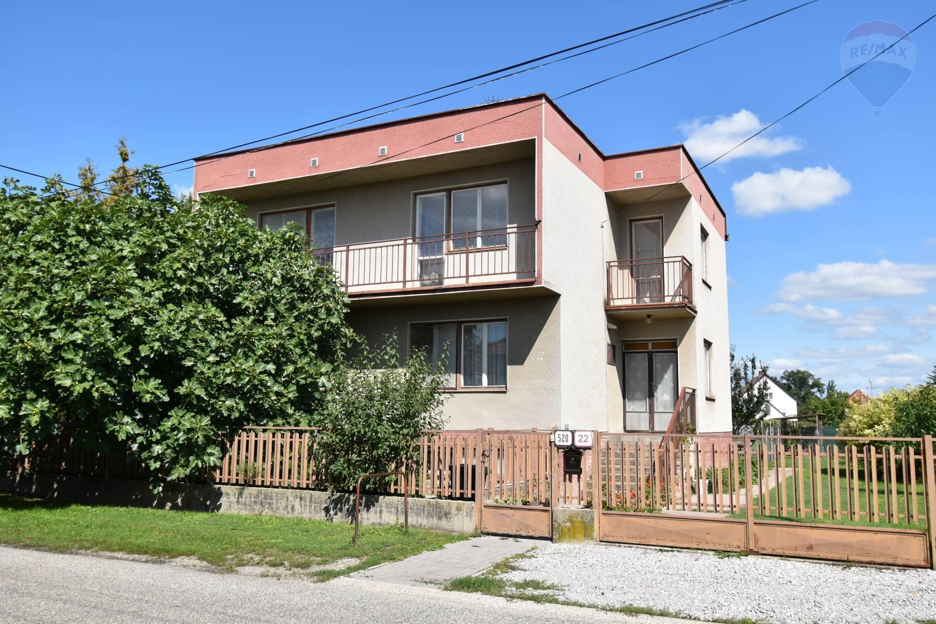 Predaj: Rodinný dom, Vrakúň, 5 izieb, pozemok 1 210 m2,