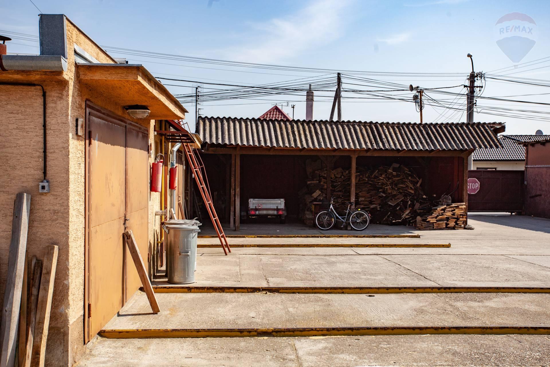 Na prenájom stolárska dielňa, sklad, výroba, Gabčíkovo
