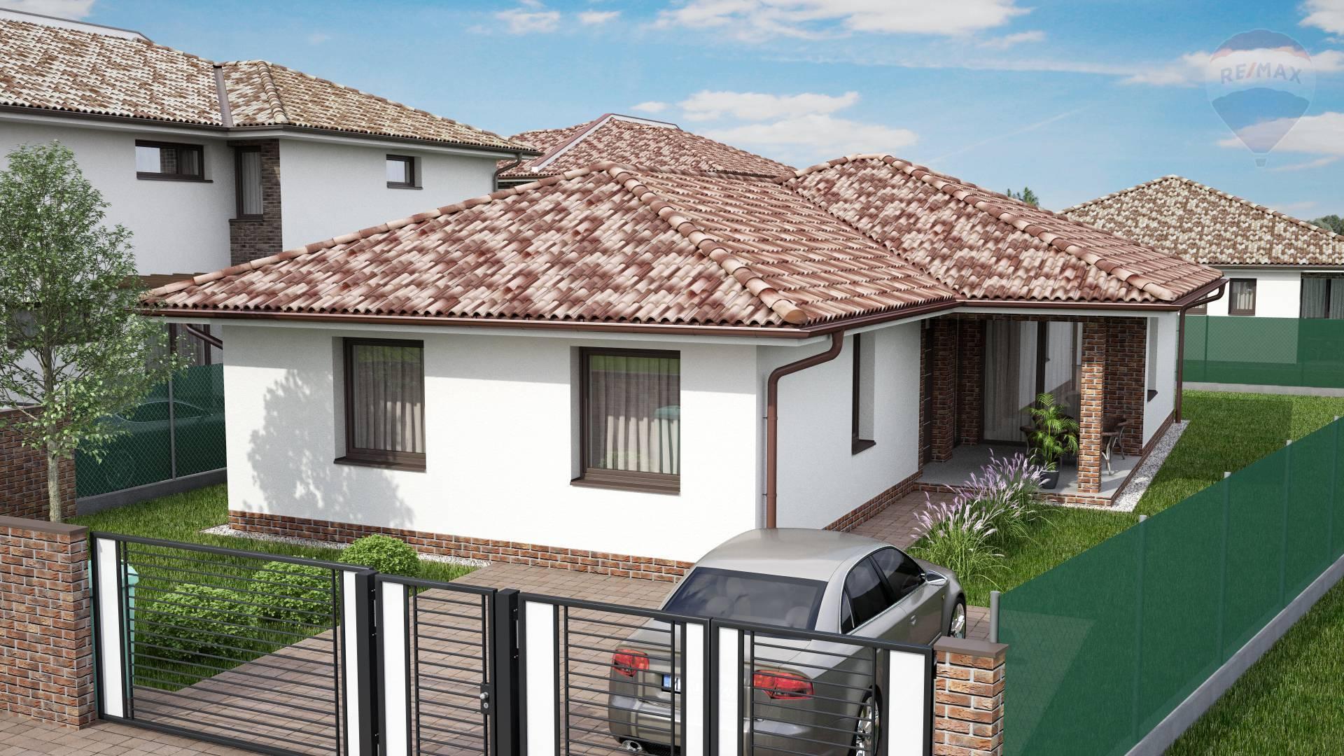 Na predaj: Hotový 4 izbový rodinný dom + 450m2 pozemok, Dunajská Streda, západ