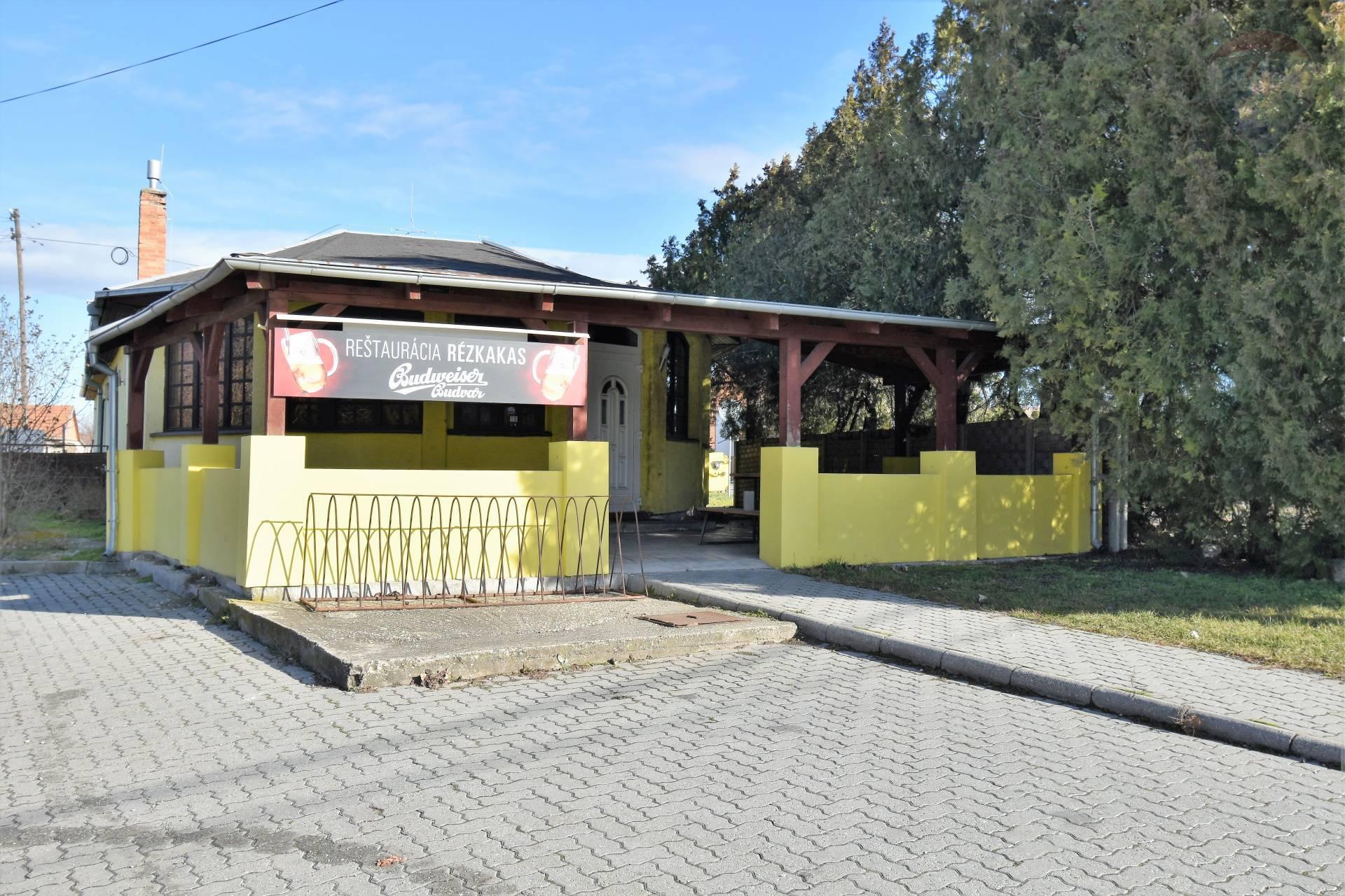 Predaj: Komerčný objekt, reštaurácia, Okoč, pozemok 326 m2, nová prístavba