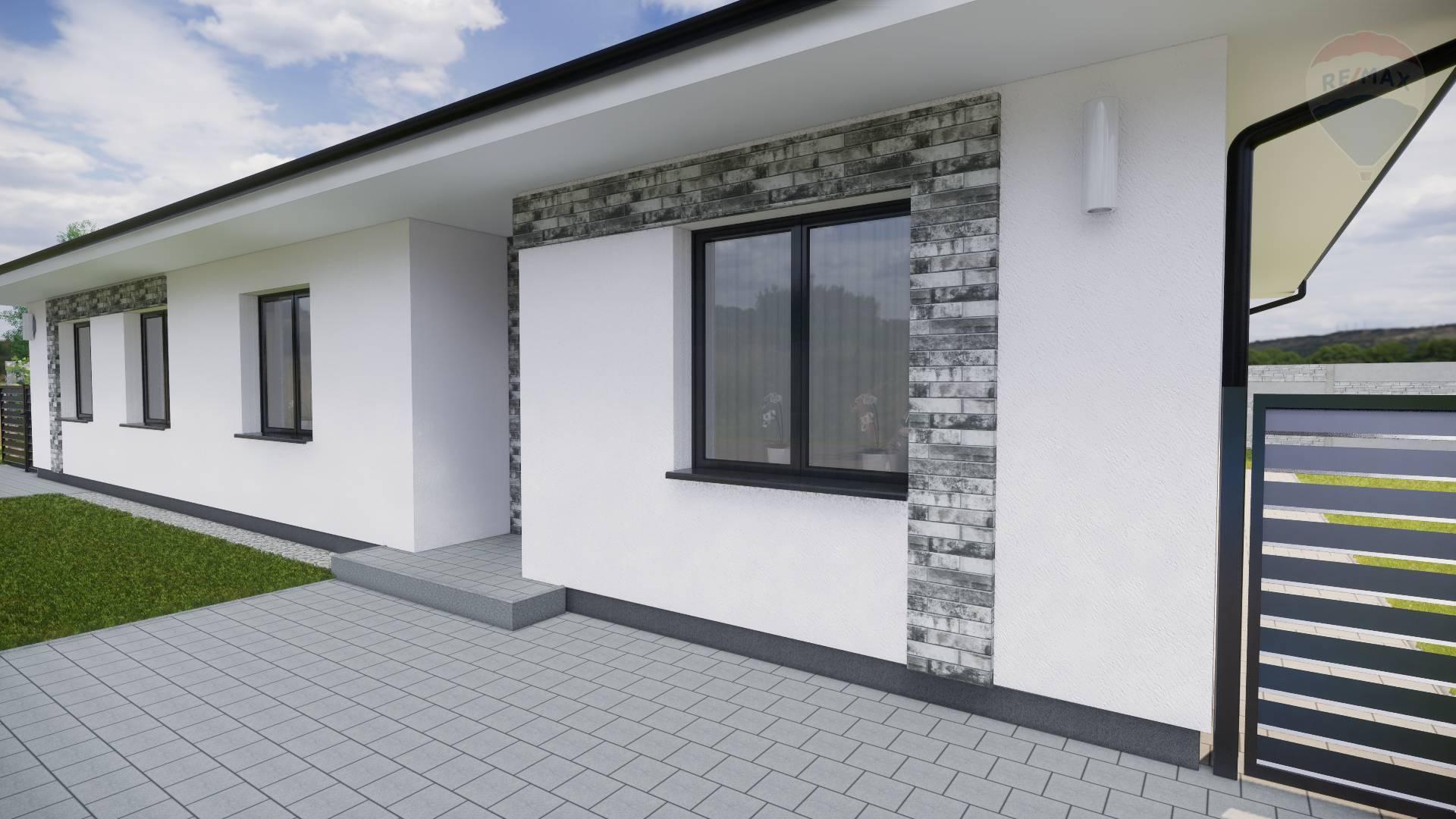 Predaj: Rodinný dom, Dunajská Streda, 4 izby, pozemok 300 m2, novostavba, dvojdom