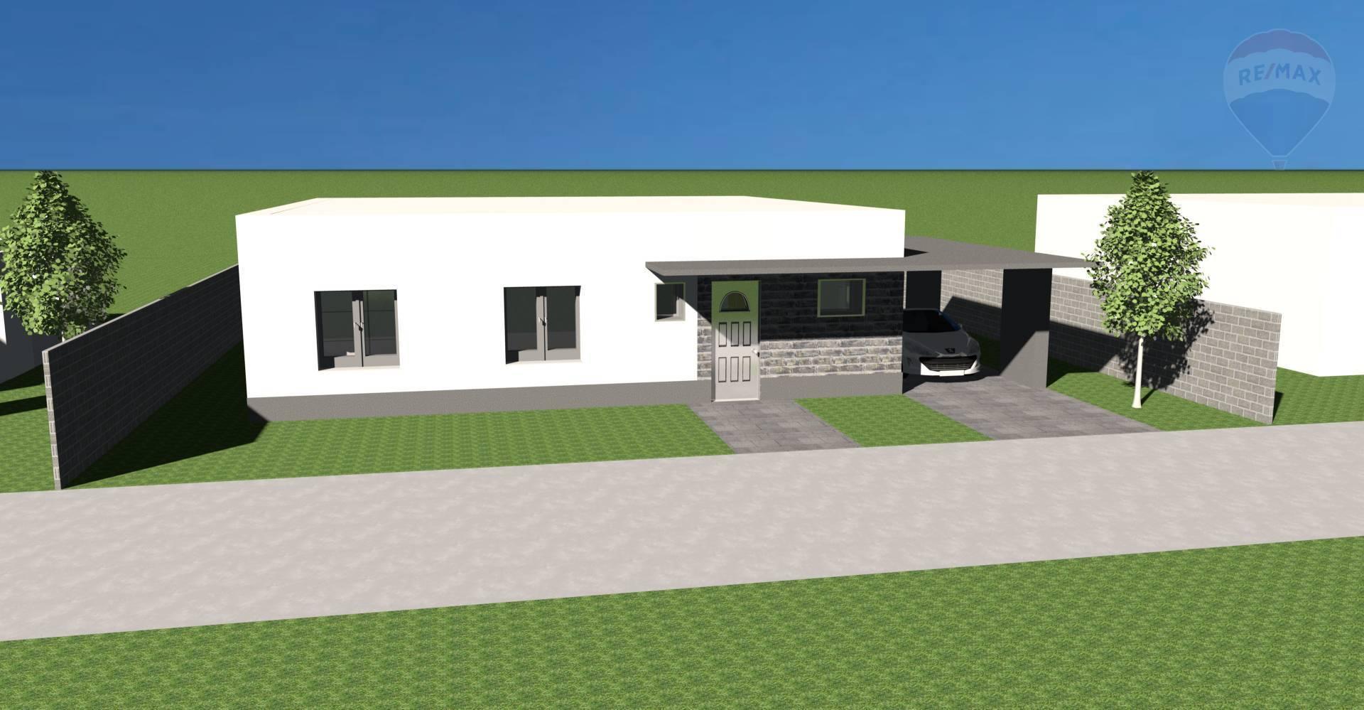 Na predaj 4 izbový rodinný dom s pozemkom 588 m2, novostavba, Veľký Meder