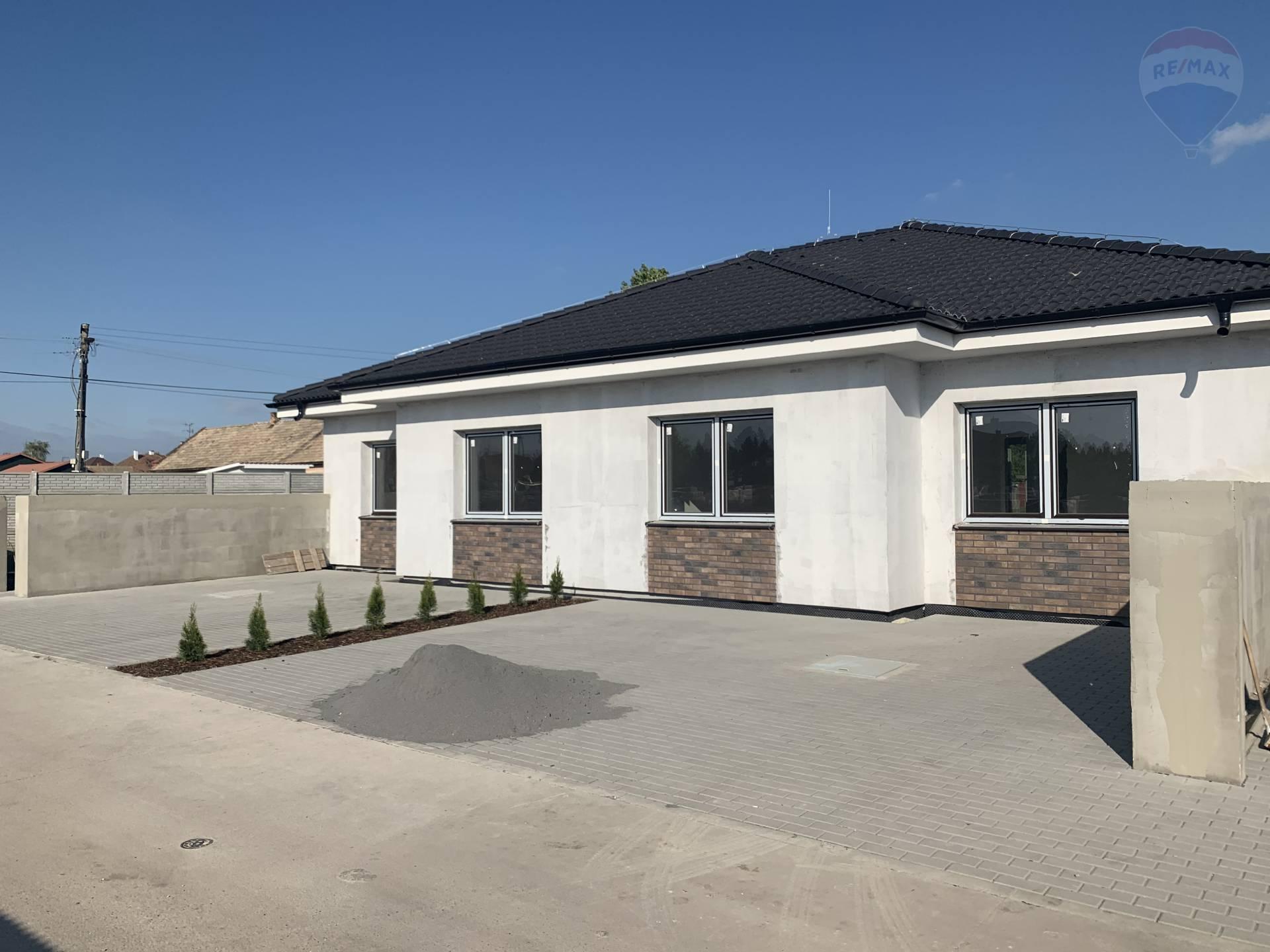 Predaj: 3 izbový rodinný dom, novostavba, len 1 km od Dunajskej Stredy, Vydrany