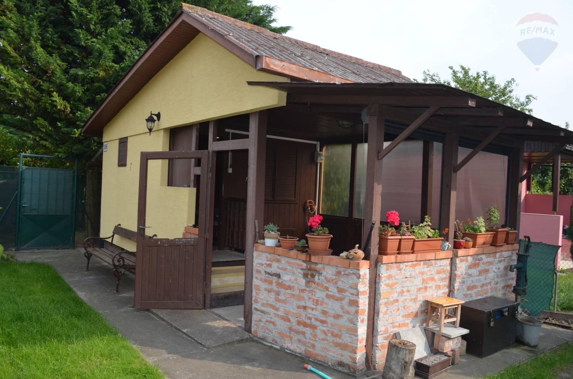na predaj záhradkárska chata s pozemkom 223m2 v Dunajskej Strede