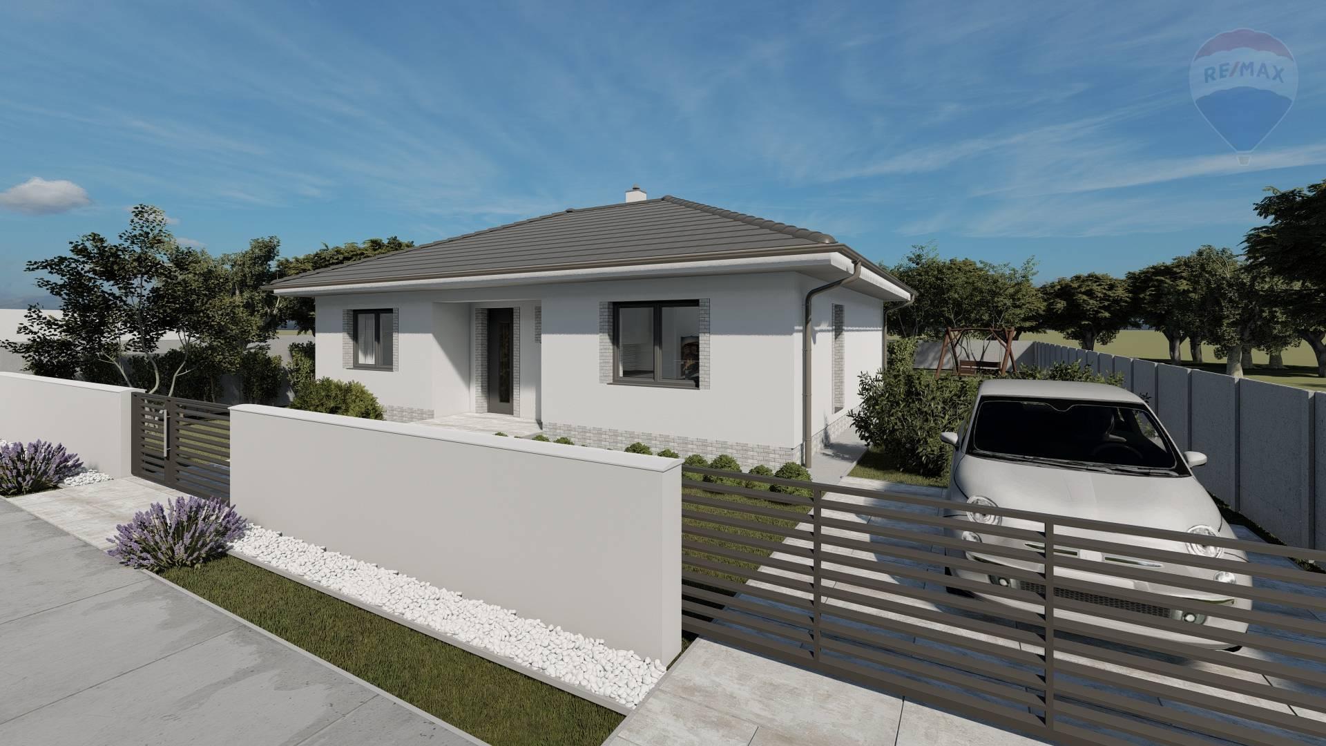 Na predaj: 3 izbový rodinný dom, Dunajská Streda, nová časť