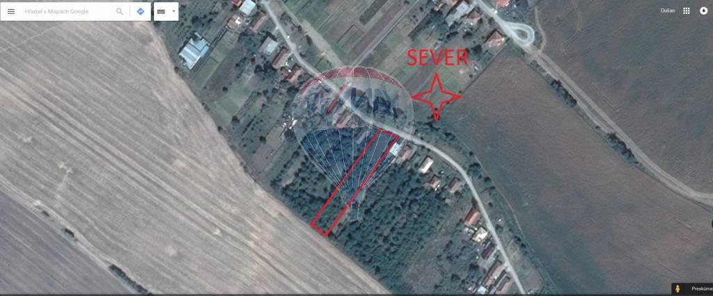 Predaj pozemku 2185 m2, Melek - PREDAJ: Stavebný pozemok v obci Melek, okres Vráble, Dušan Stančík
