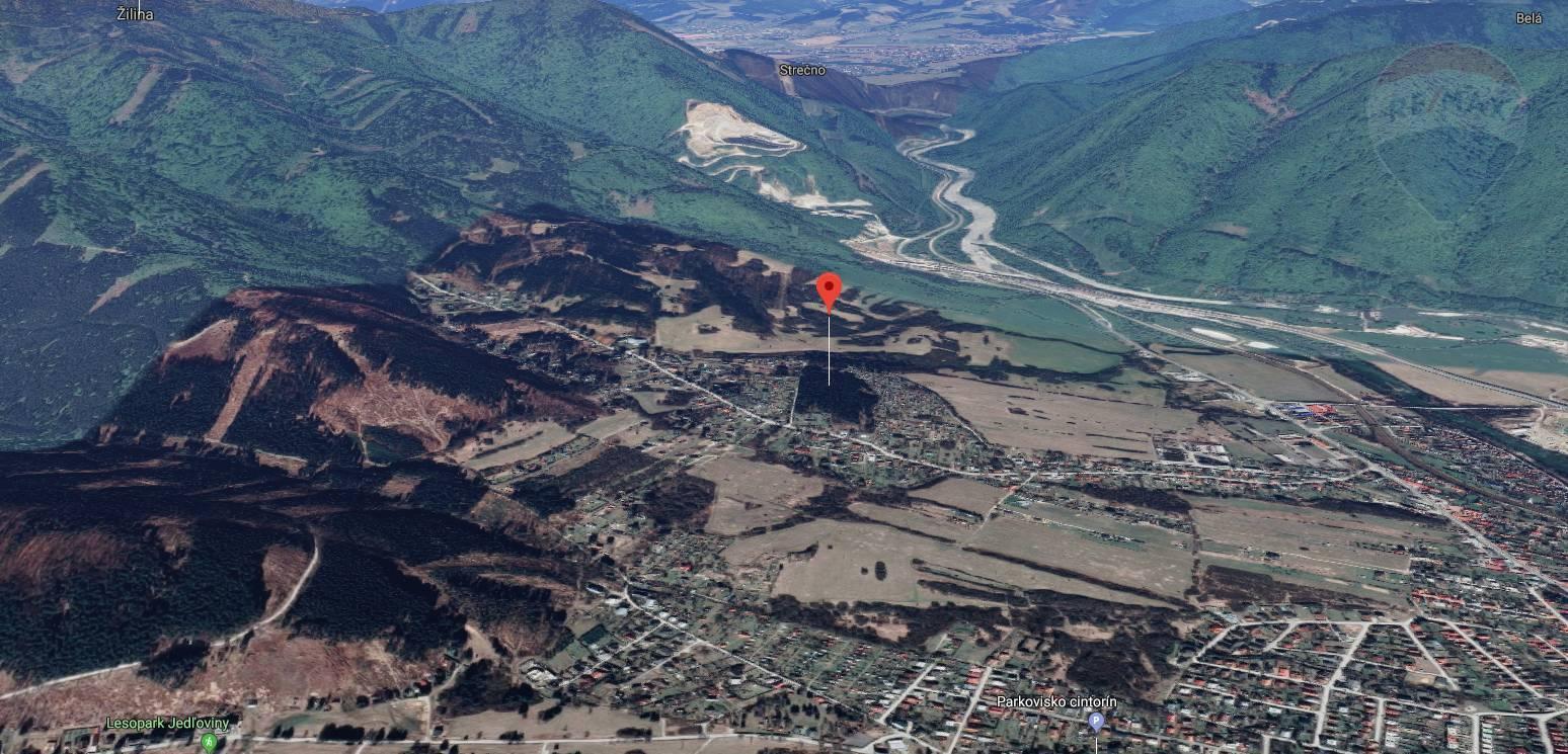 Na predaj: Lesný pozemok,  13 039 m2, Karvaša a  Bláhovca, Vrútky