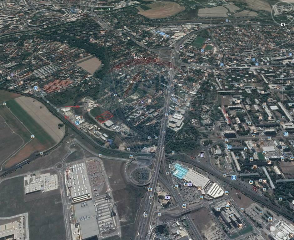 Predaj pozemku 9009 m2, Bratislava - Ružinov - pozemok na predaj Bratislava Ružinov