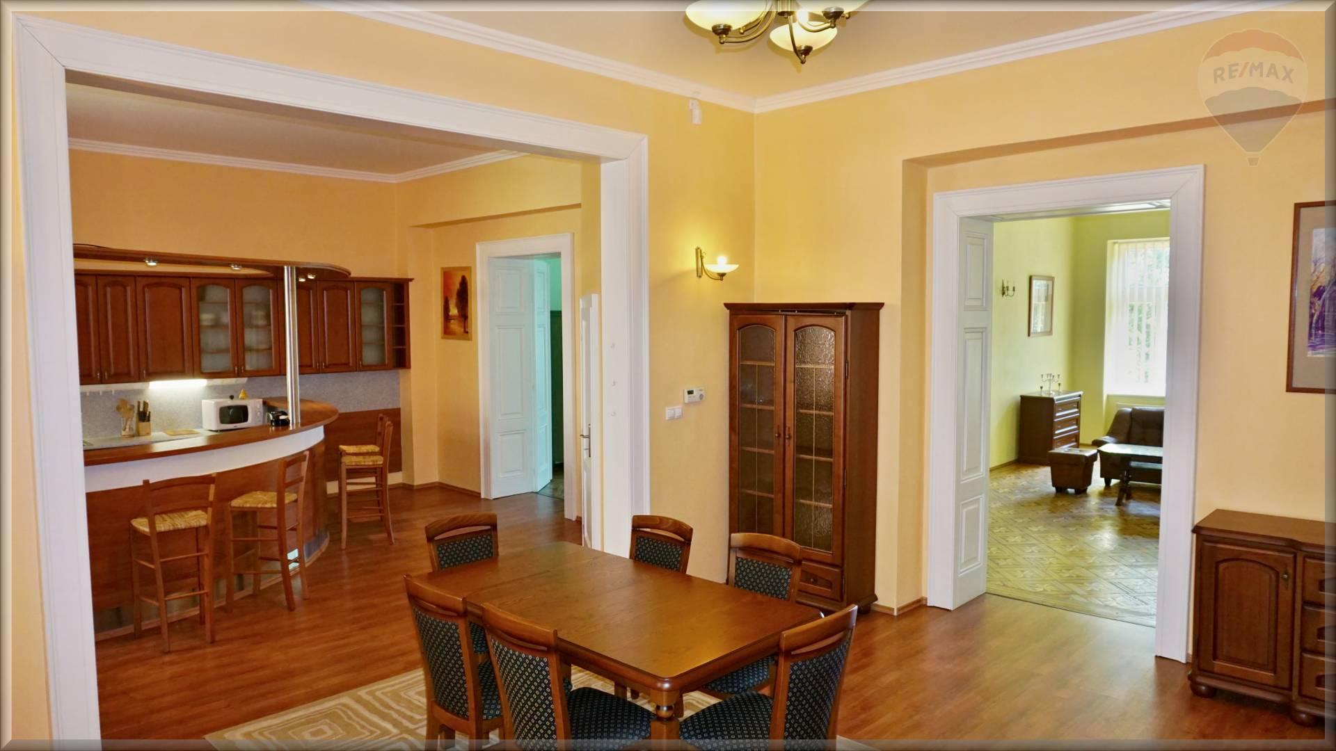 Prenájom luxusný 5 izbový byt, 250 m2, Košice