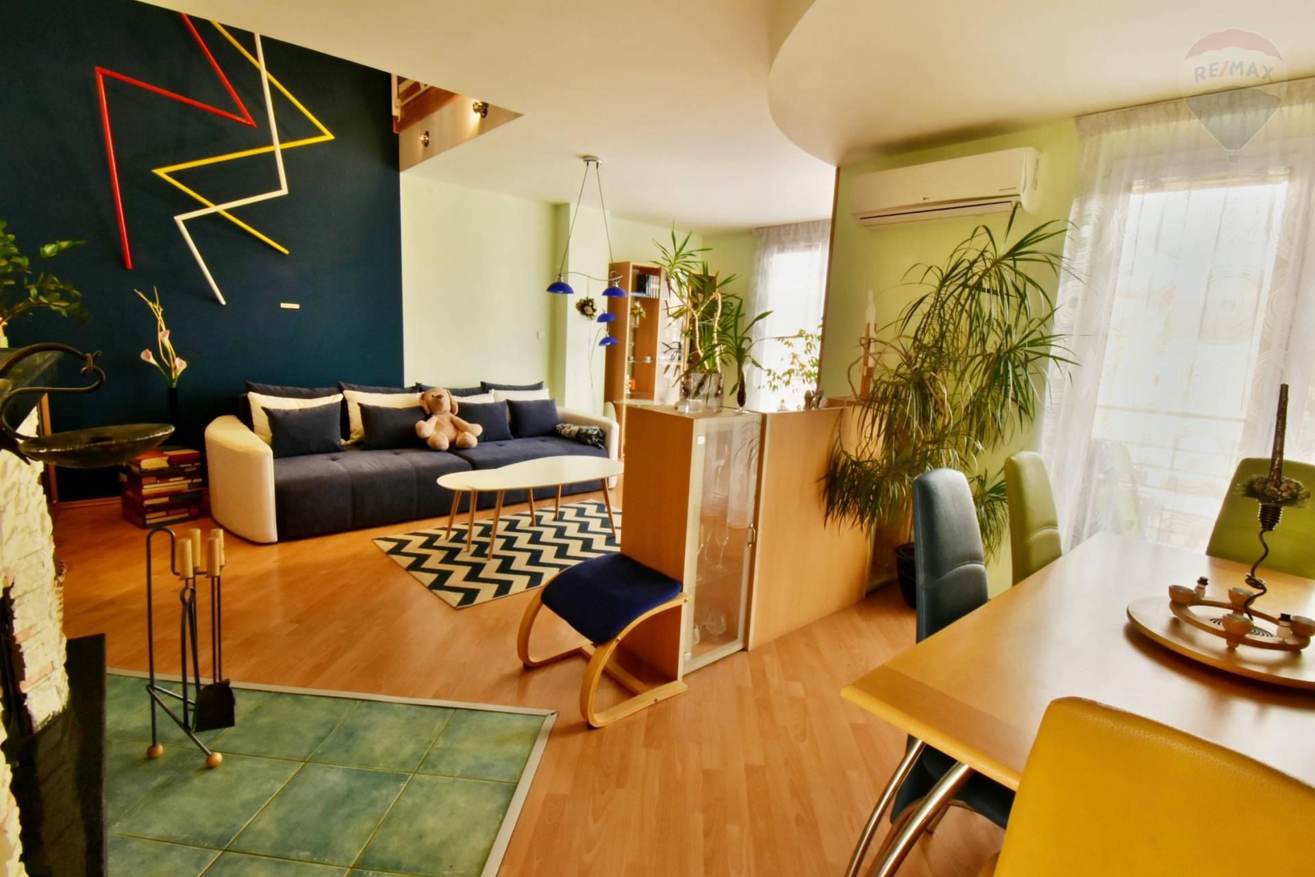 4-izbový mezonetový byt na prenájom